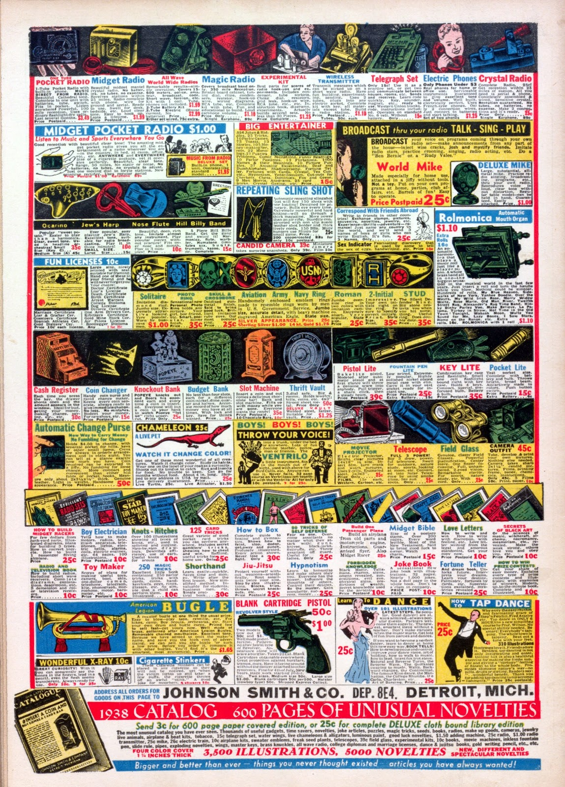Read online Famous Funnies comic -  Issue #45 - 68