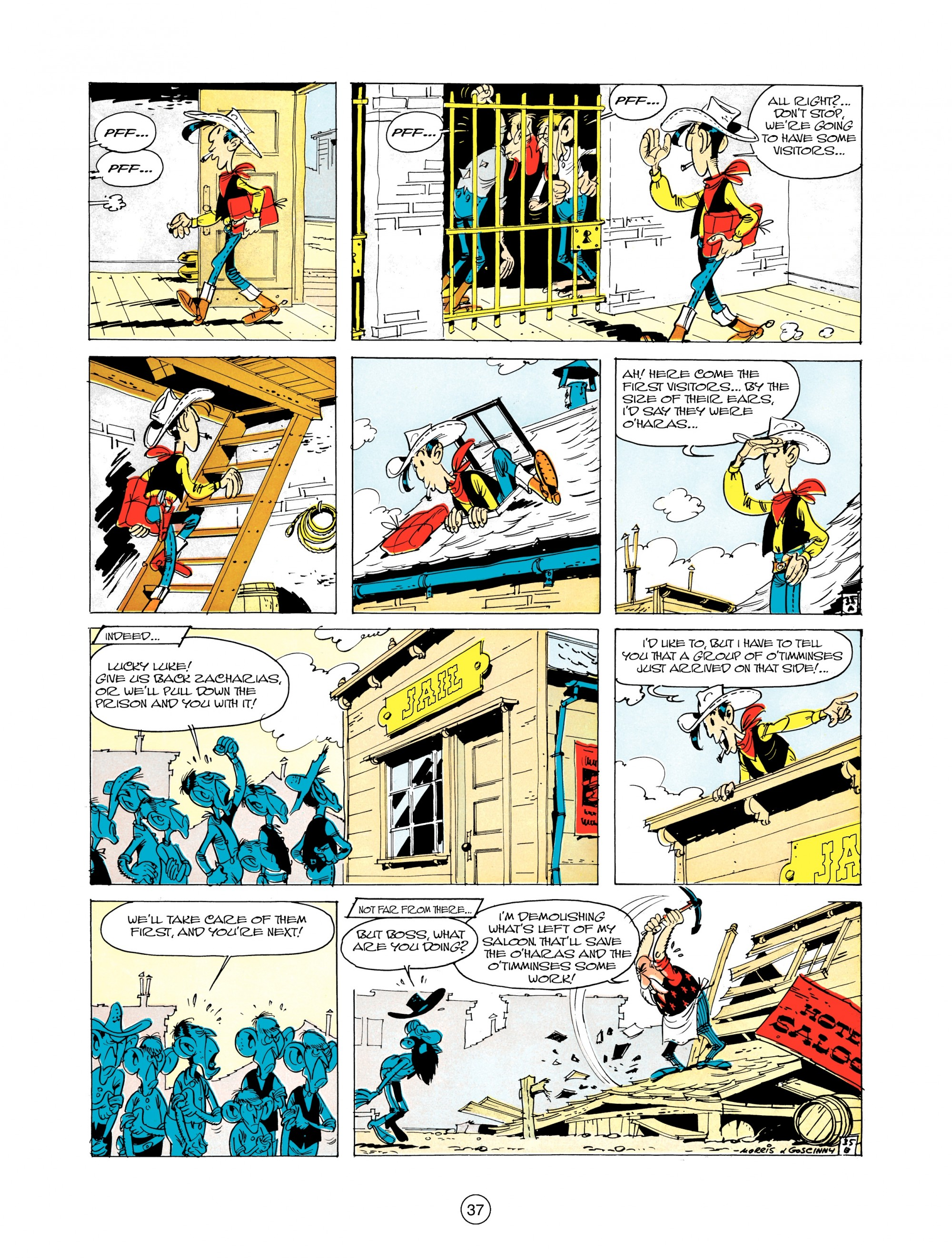 Read online A Lucky Luke Adventure comic -  Issue #12 - 37
