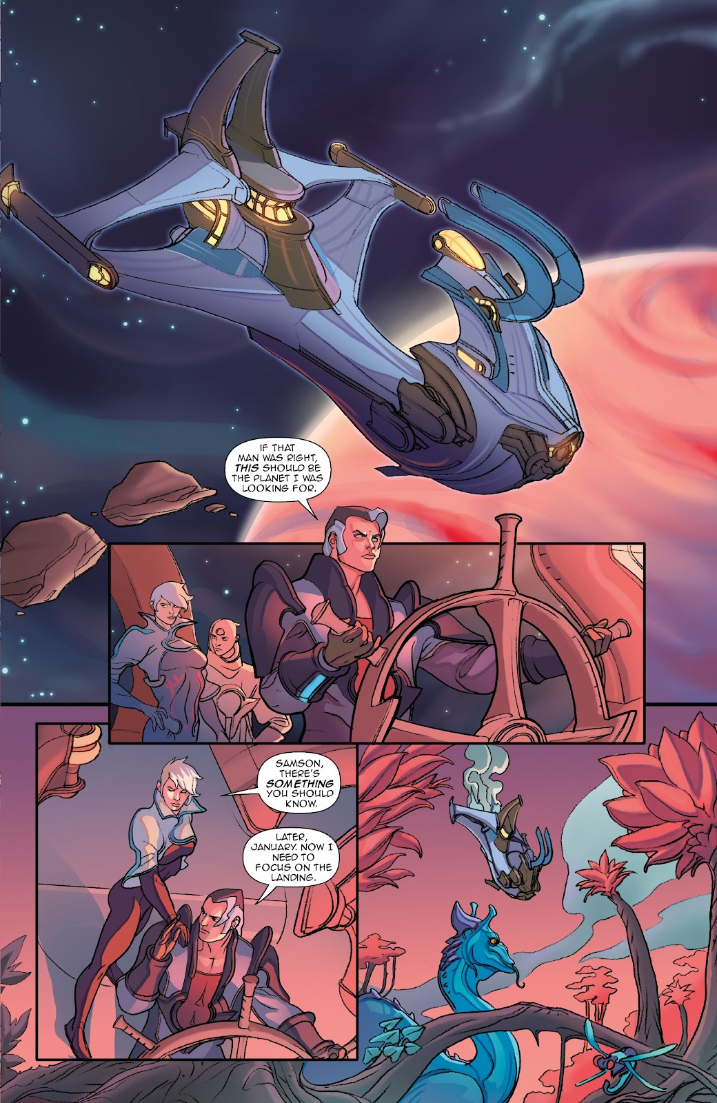 Read online Lightstep comic -  Issue #5 - 21