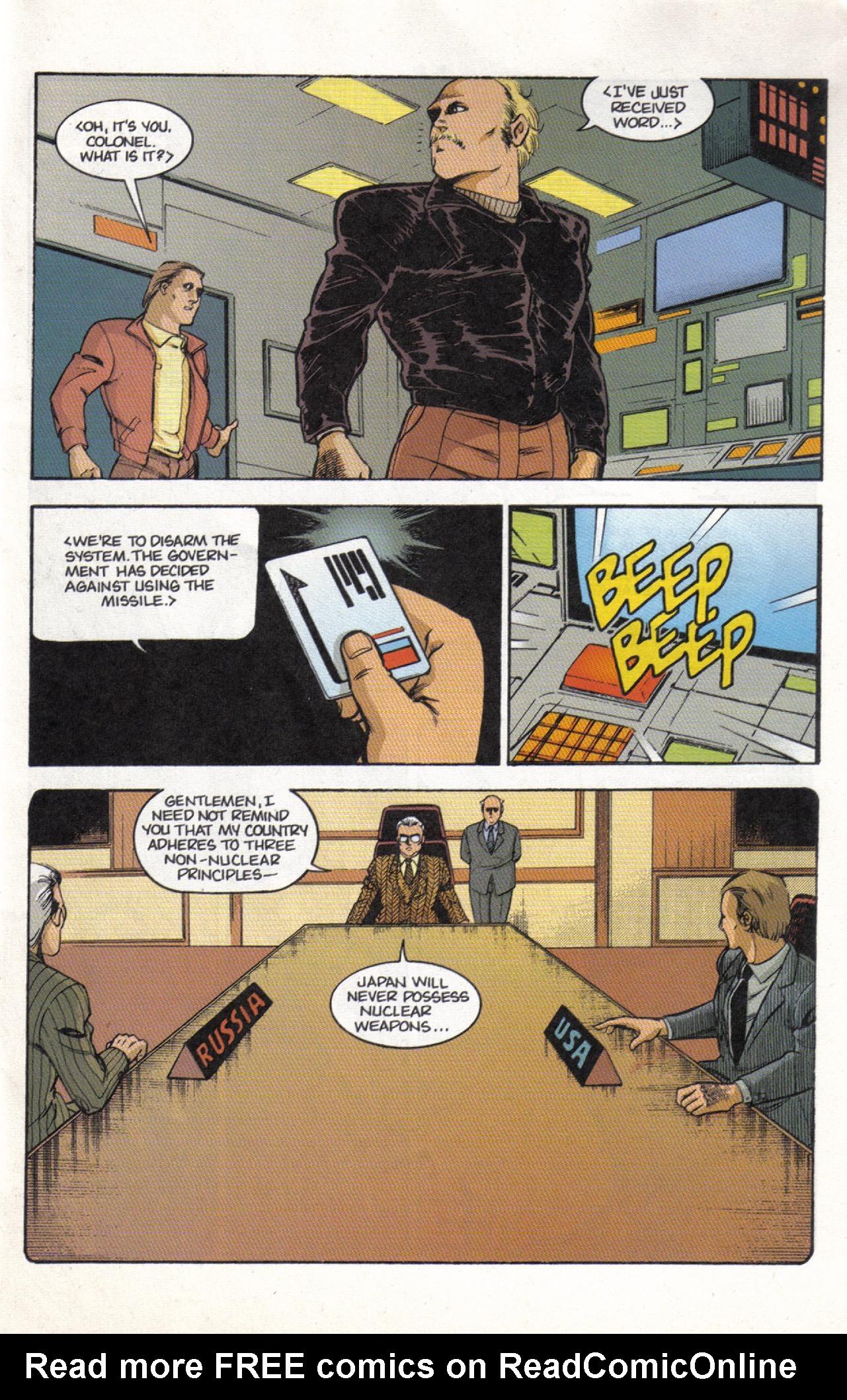 Read online Dark Horse Classics: Terror of Godzilla comic -  Issue #3 - 11