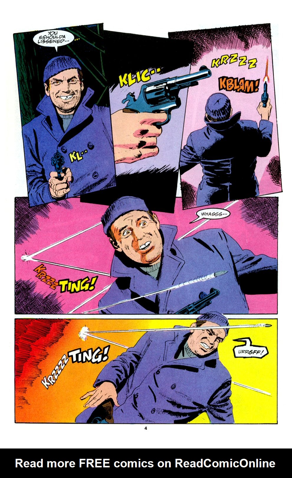Read online Powerline comic -  Issue #5 - 6