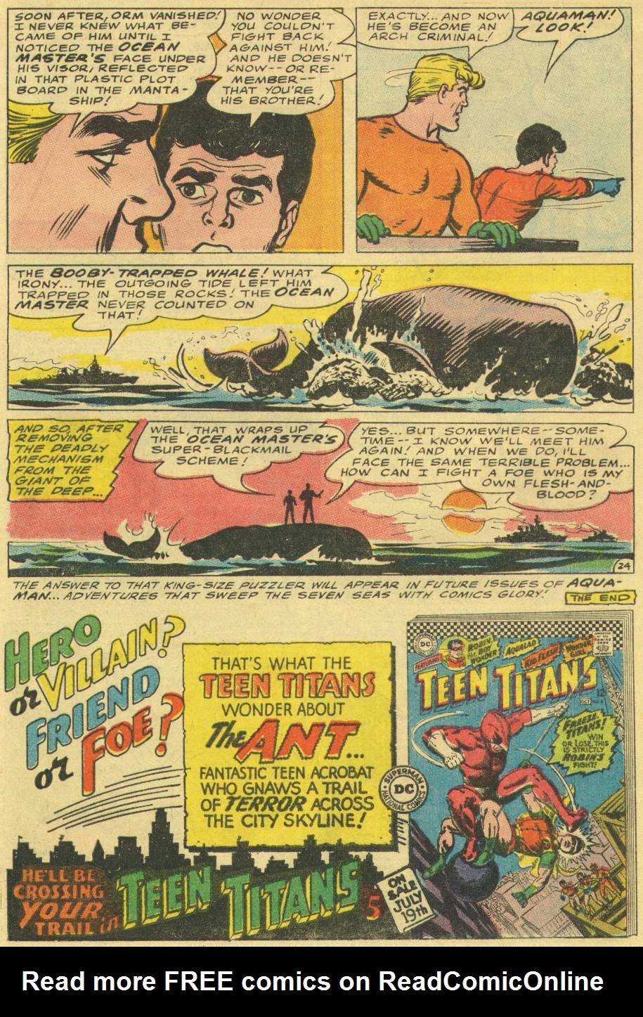 Read online Aquaman (1962) comic -  Issue #29 - 32