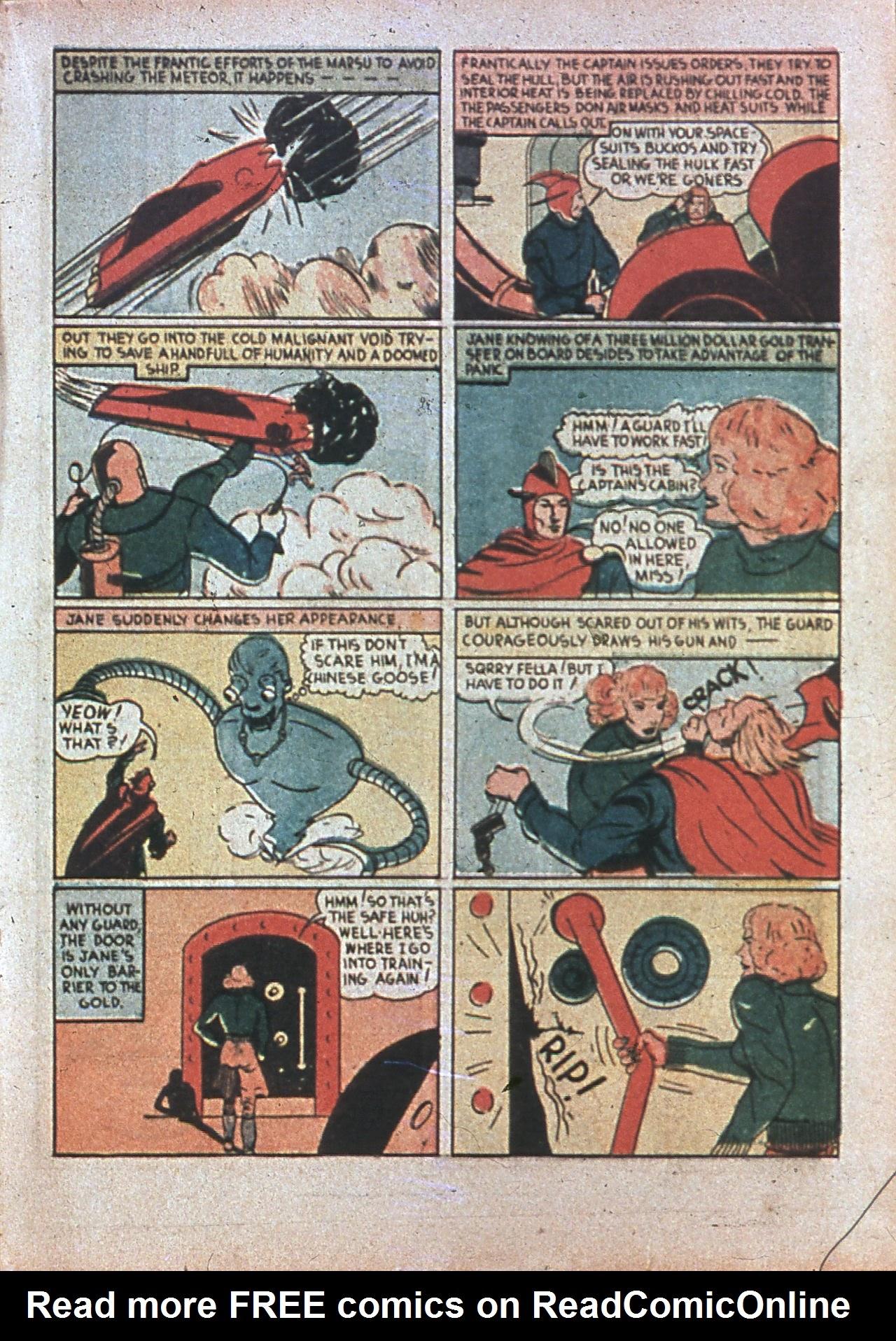 Read online Amazing Man Comics comic -  Issue #7 - 34