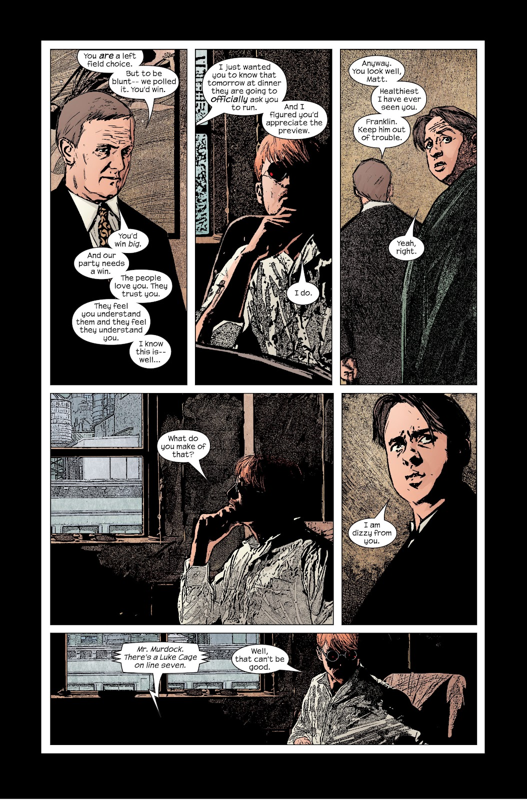 Read online Daredevil (1998) comic -  Issue # _Ultimate_Collection TPB 2 (Part 3) - 41