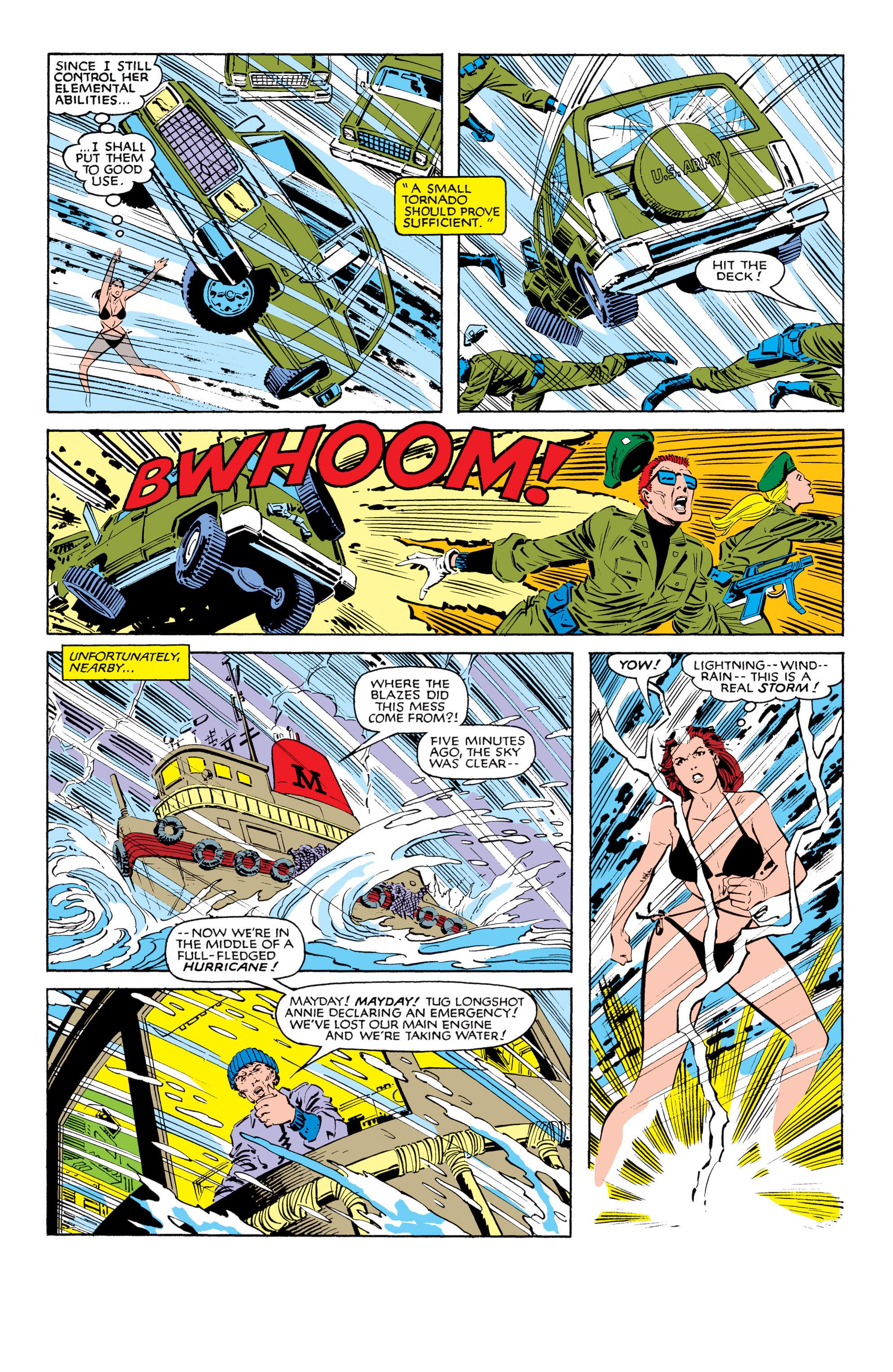 Read online Uncanny X-Men (1963) comic -  Issue #185 - 17