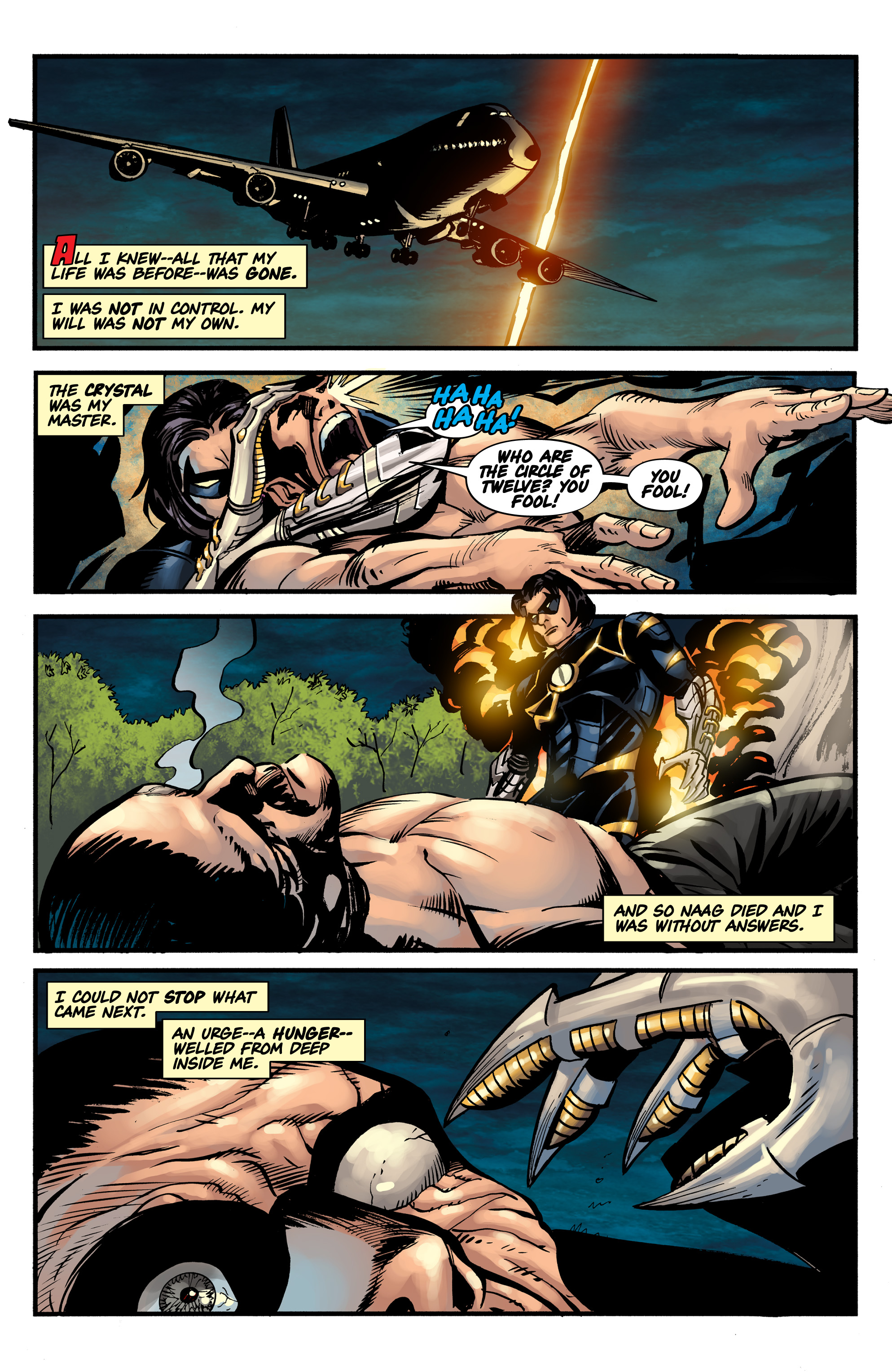 Read online Shadow Tiger comic -  Issue #1 - 26