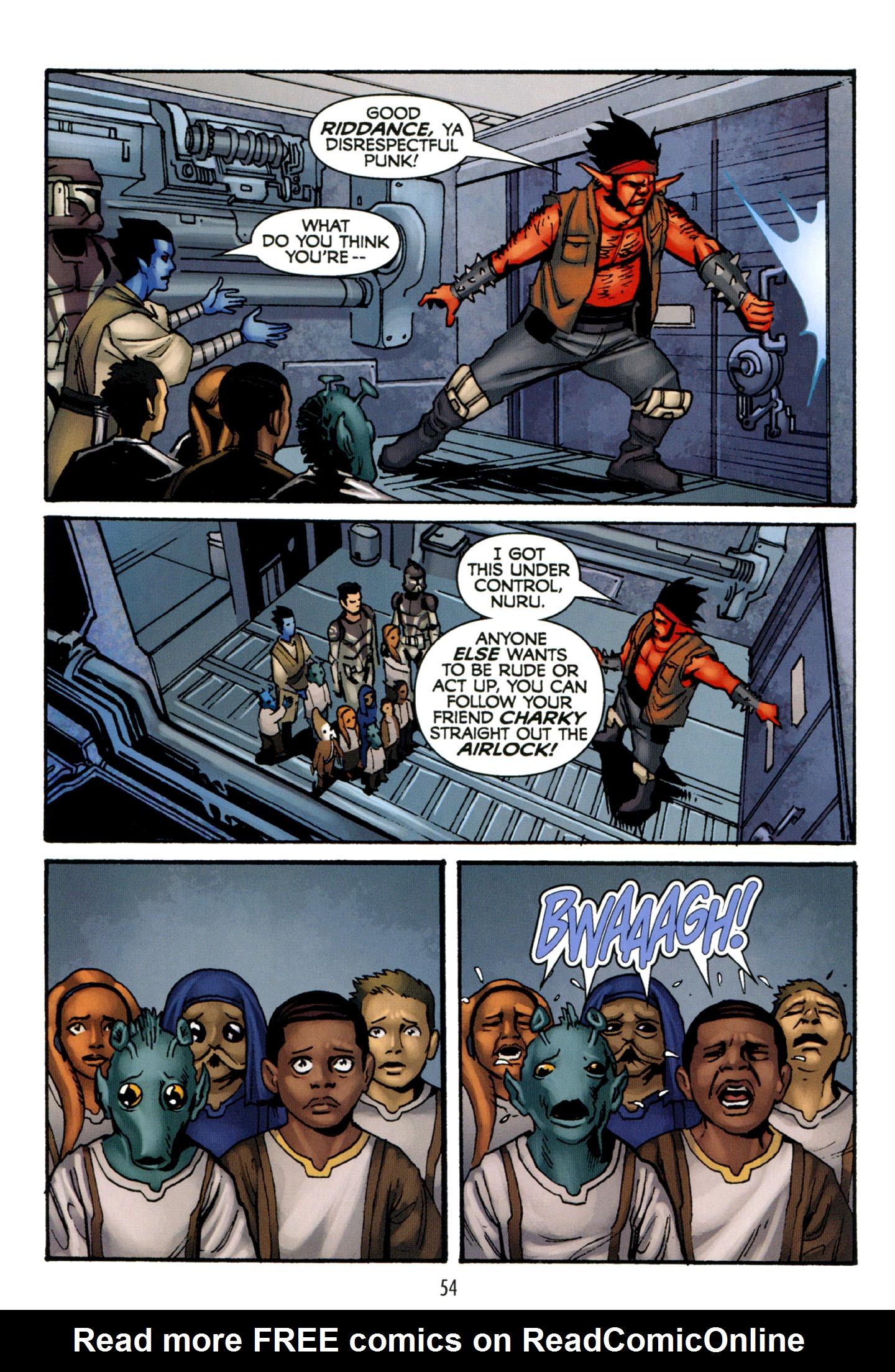 Read online Star Wars: The Clone Wars - Strange Allies comic -  Issue # Full - 55