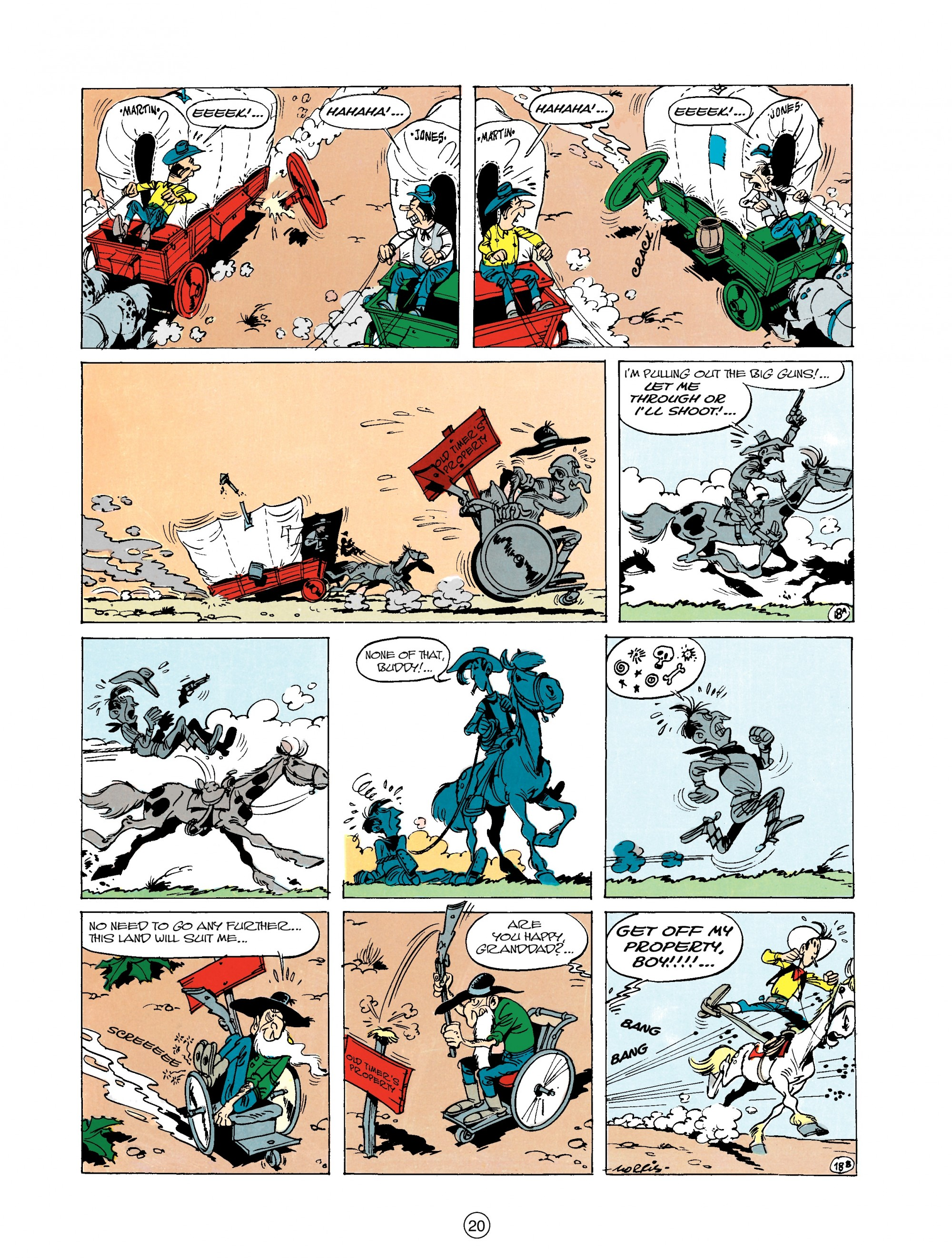 Read online A Lucky Luke Adventure comic -  Issue #20 - 20