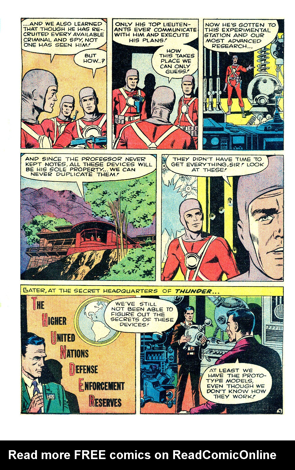 T.H.U.N.D.E.R. Agents (1965) issue 17 - Page 4