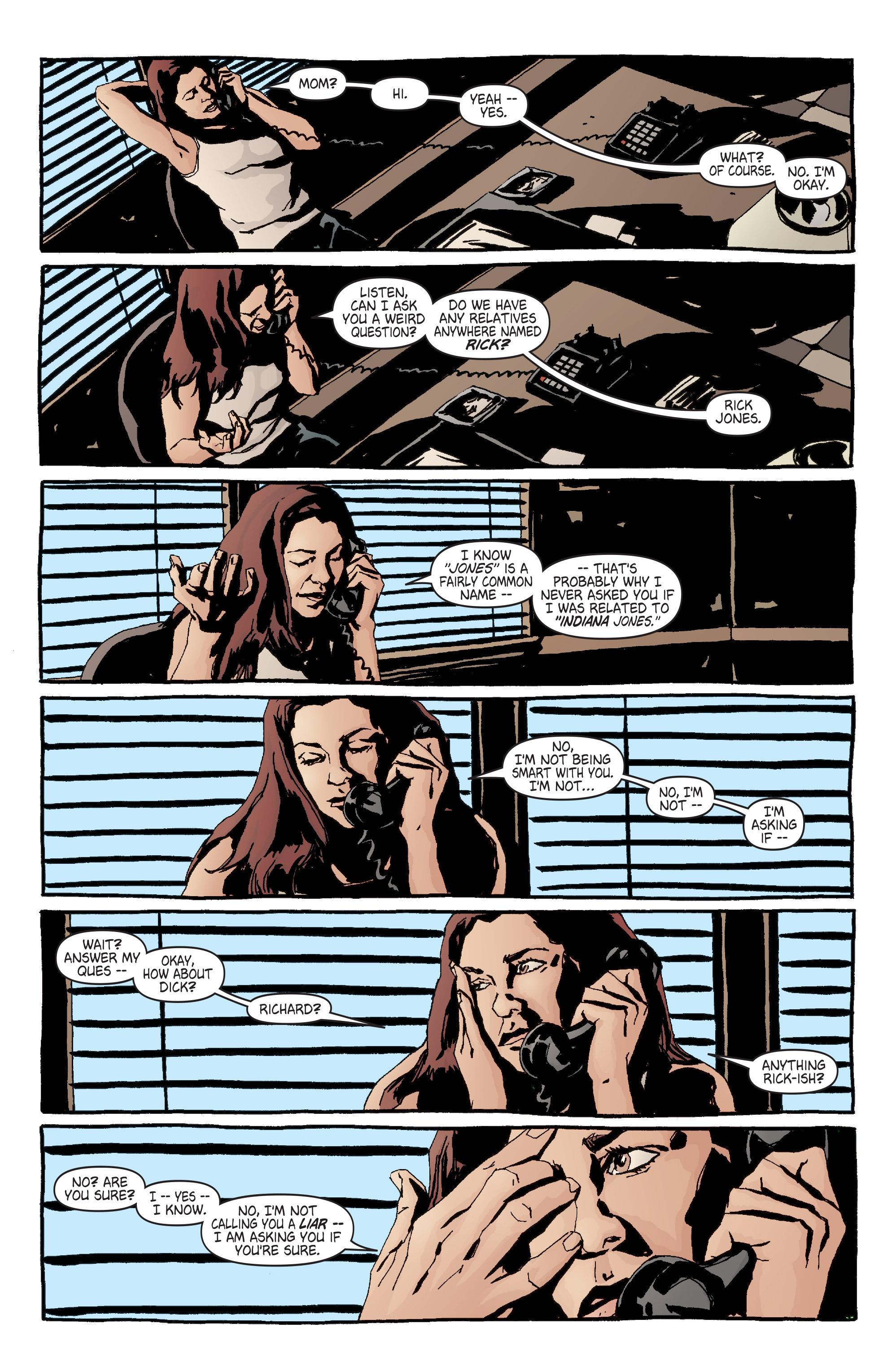 Read online Alias comic -  Issue #7 - 8