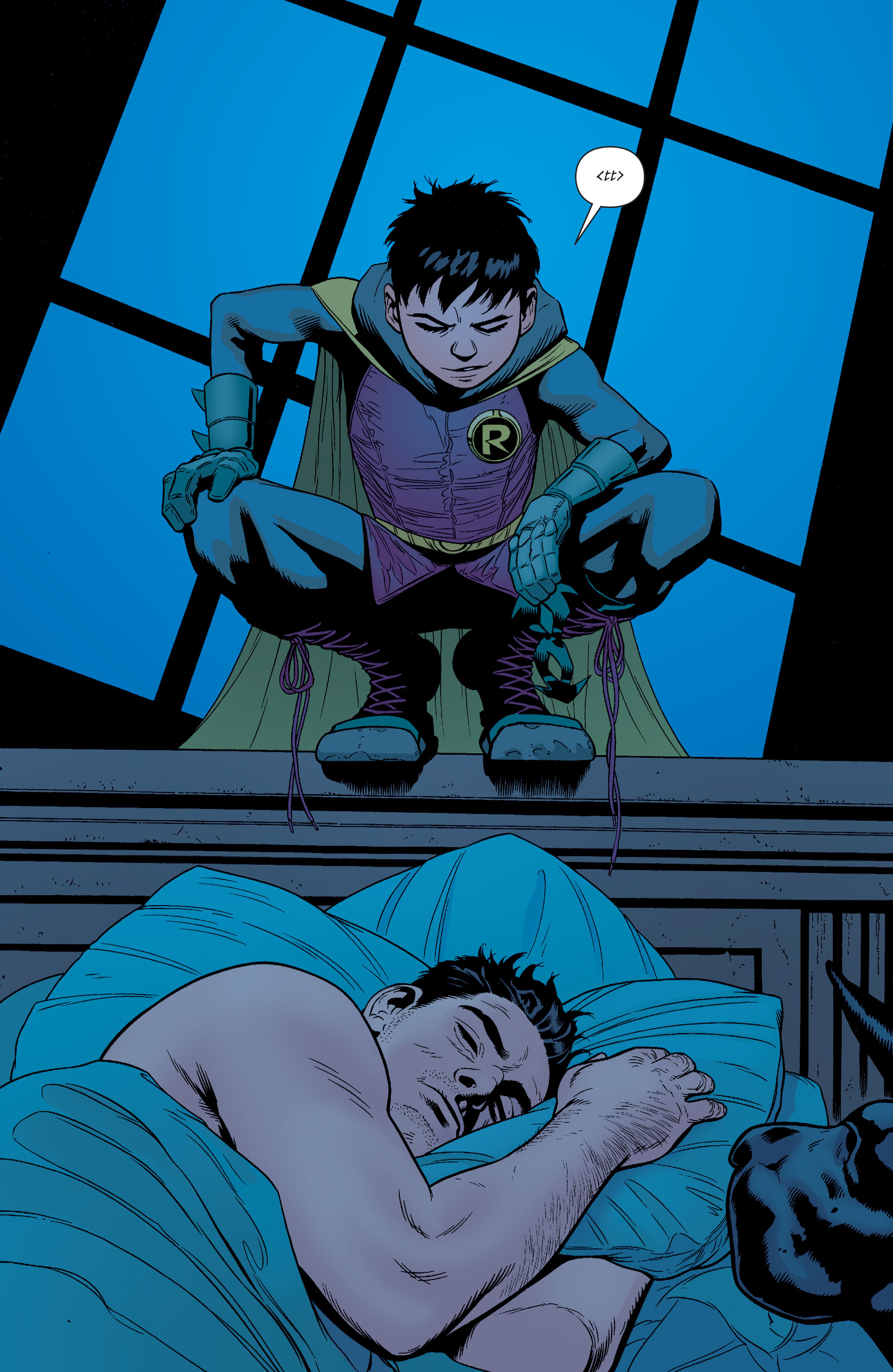 Read online Batman and Robin (2011) comic -  Issue #38 - 2