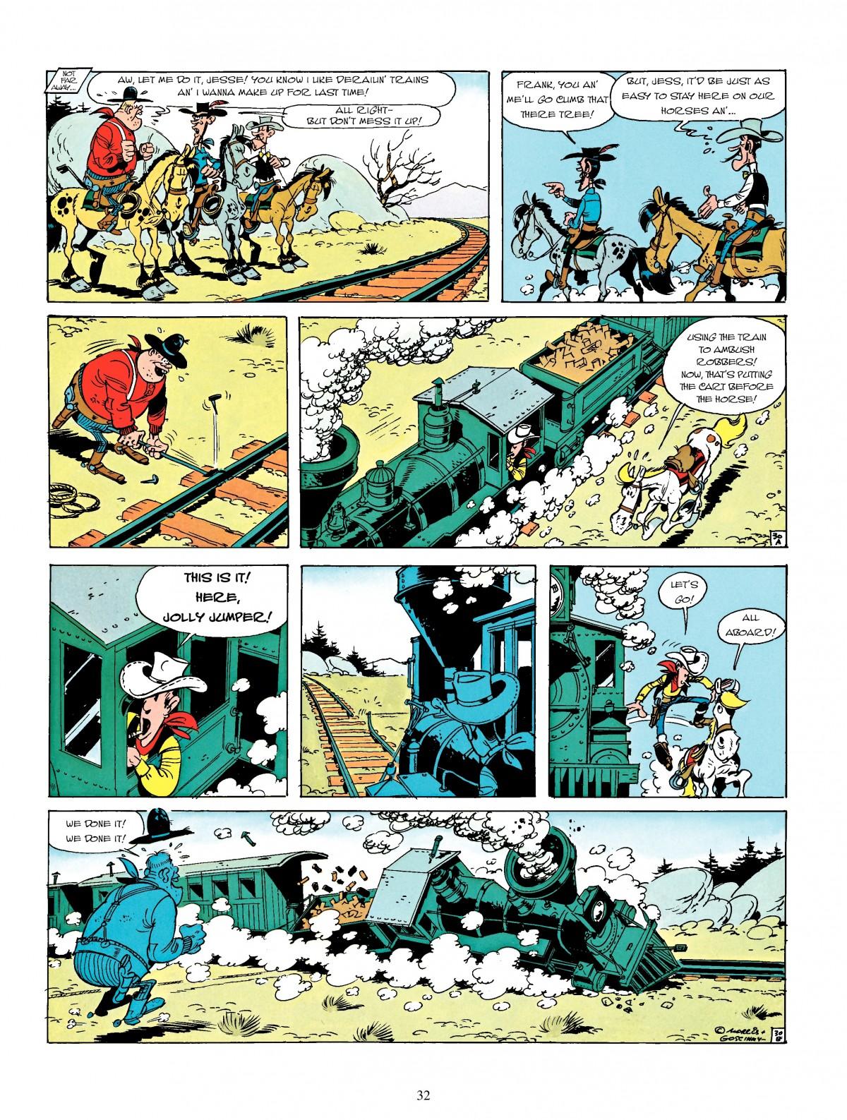 Read online A Lucky Luke Adventure comic -  Issue #4 - 34