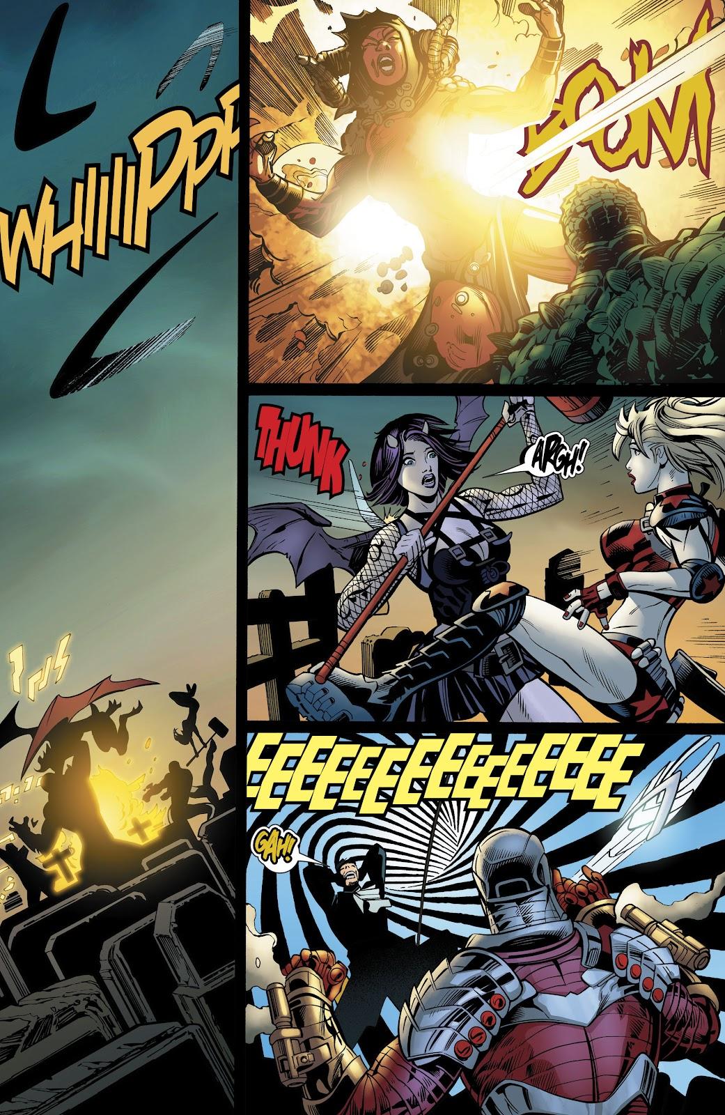 Read online Suicide Squad Black Files comic -  Issue #4 - 35