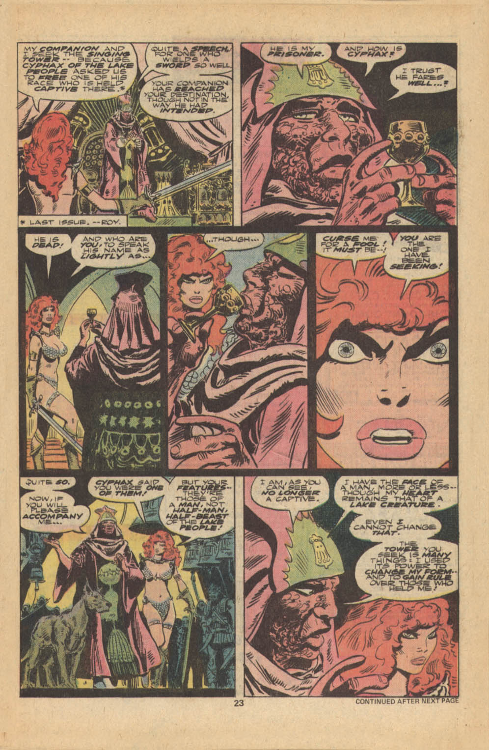 Red Sonja (1977) issue 5 - Page 14