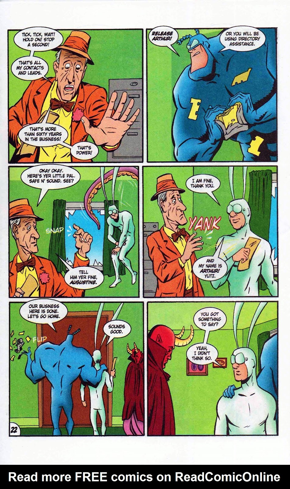 Read online The Tick: Days of Drama comic -  Issue #6 - 24