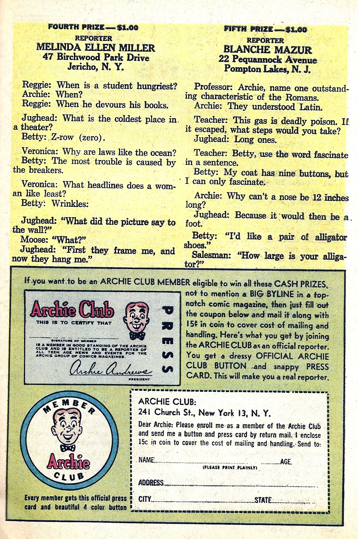 Read online Archie (1960) comic -  Issue #130 - 27