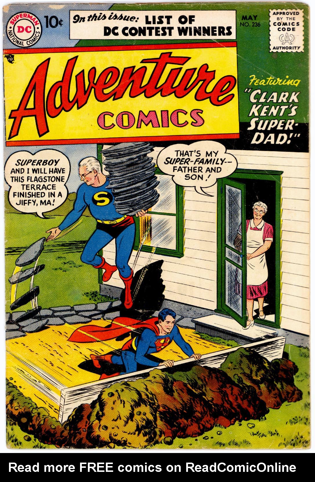 Read online Adventure Comics (1938) comic -  Issue #236 - 1