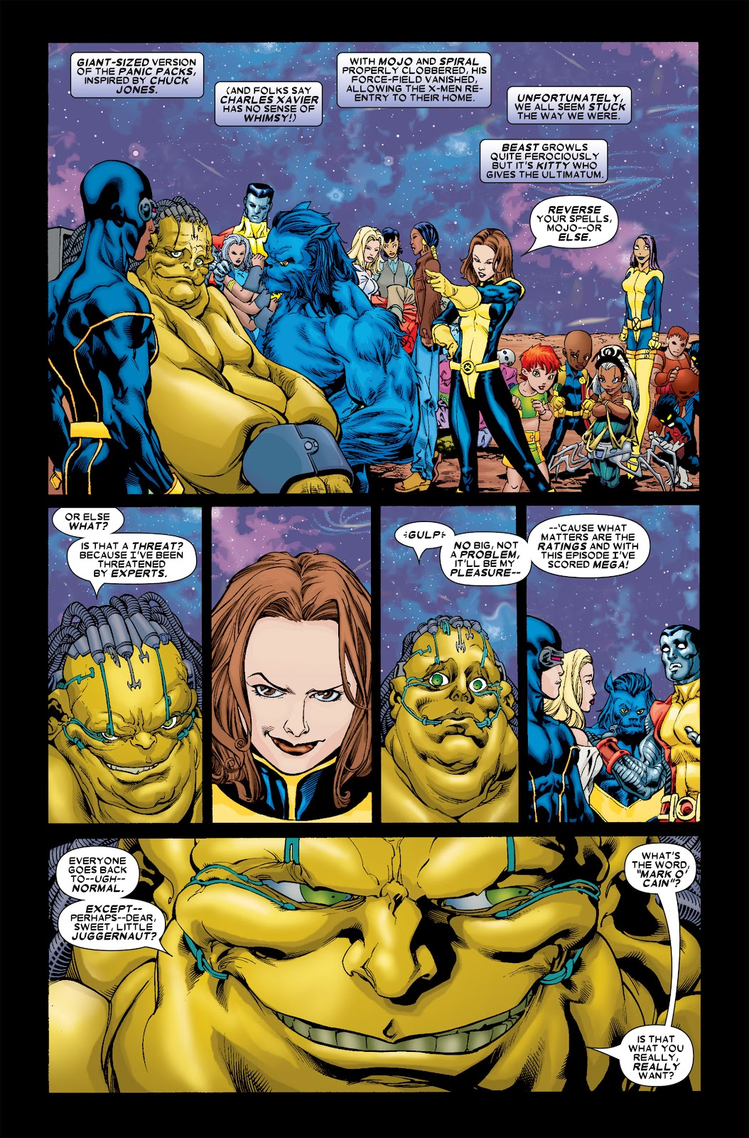 Uncanny X-Men (1963) issue 461 - Page 22