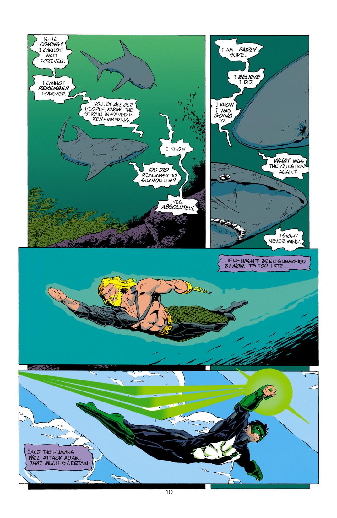 Read online Aquaman (1994) comic -  Issue #10 - 11