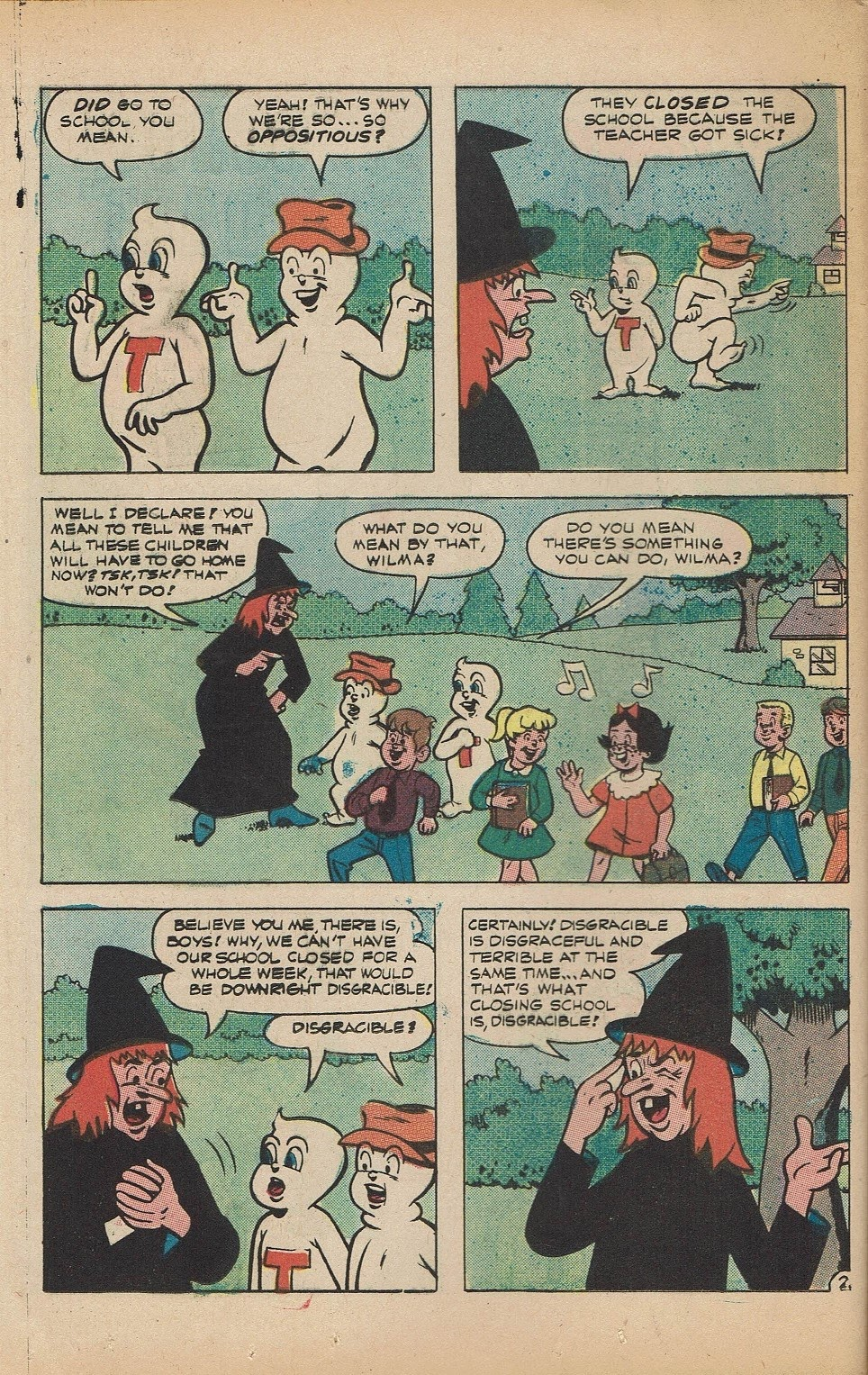 Read online Timmy the Timid Ghost comic -  Issue #5 - 12
