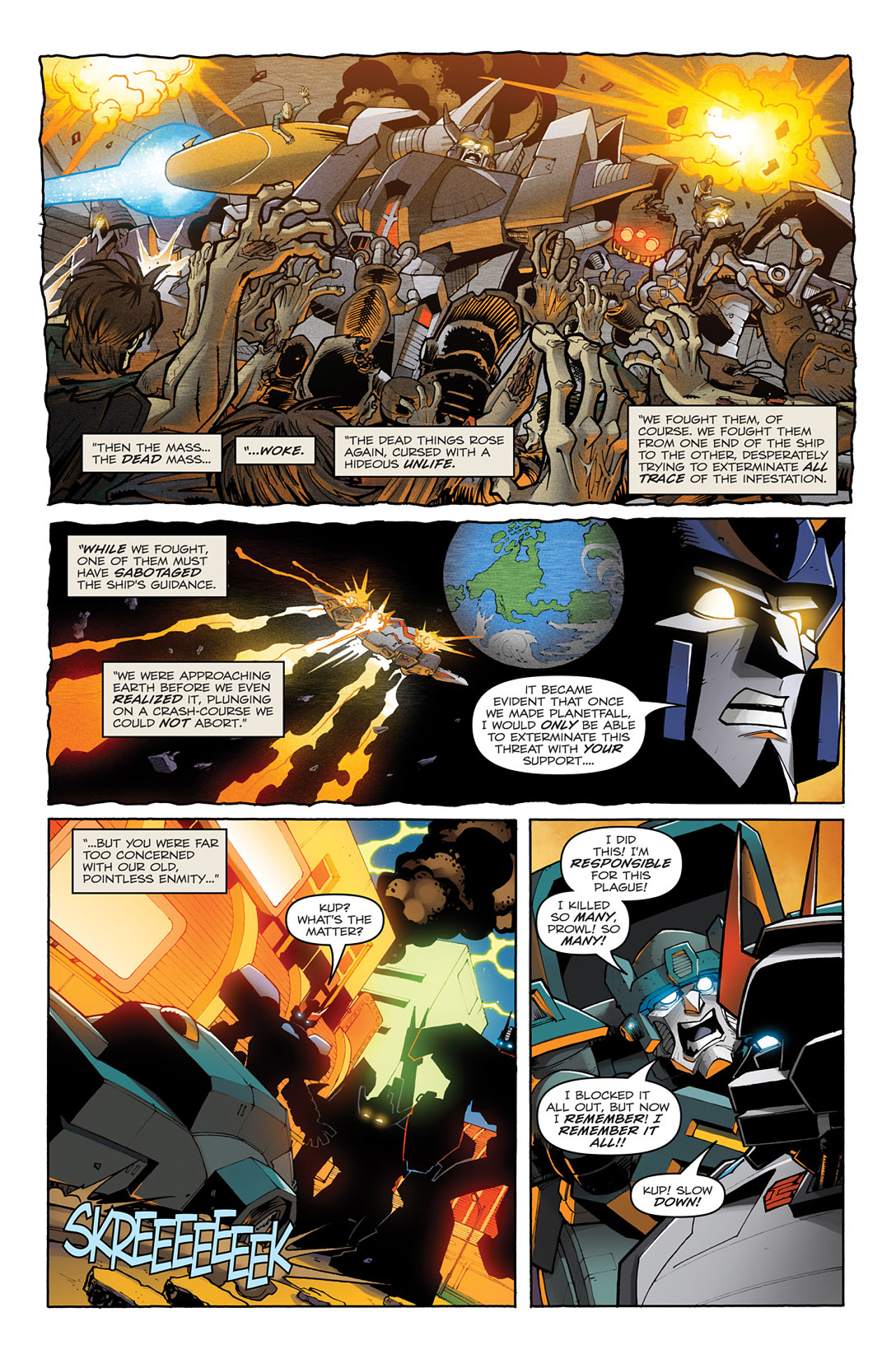 Read online Transformers: Infestation comic -  Issue #1 - 23