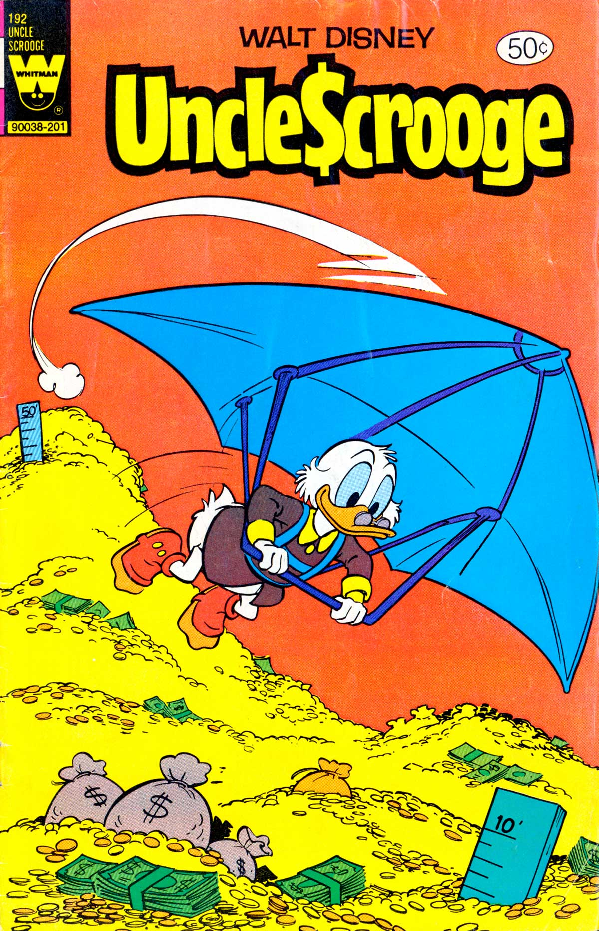 Read online Uncle Scrooge (1953) comic -  Issue #192 - 1