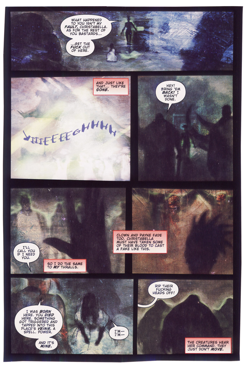 Read online Silent Hill: Dying Inside comic -  Issue #5 - 21