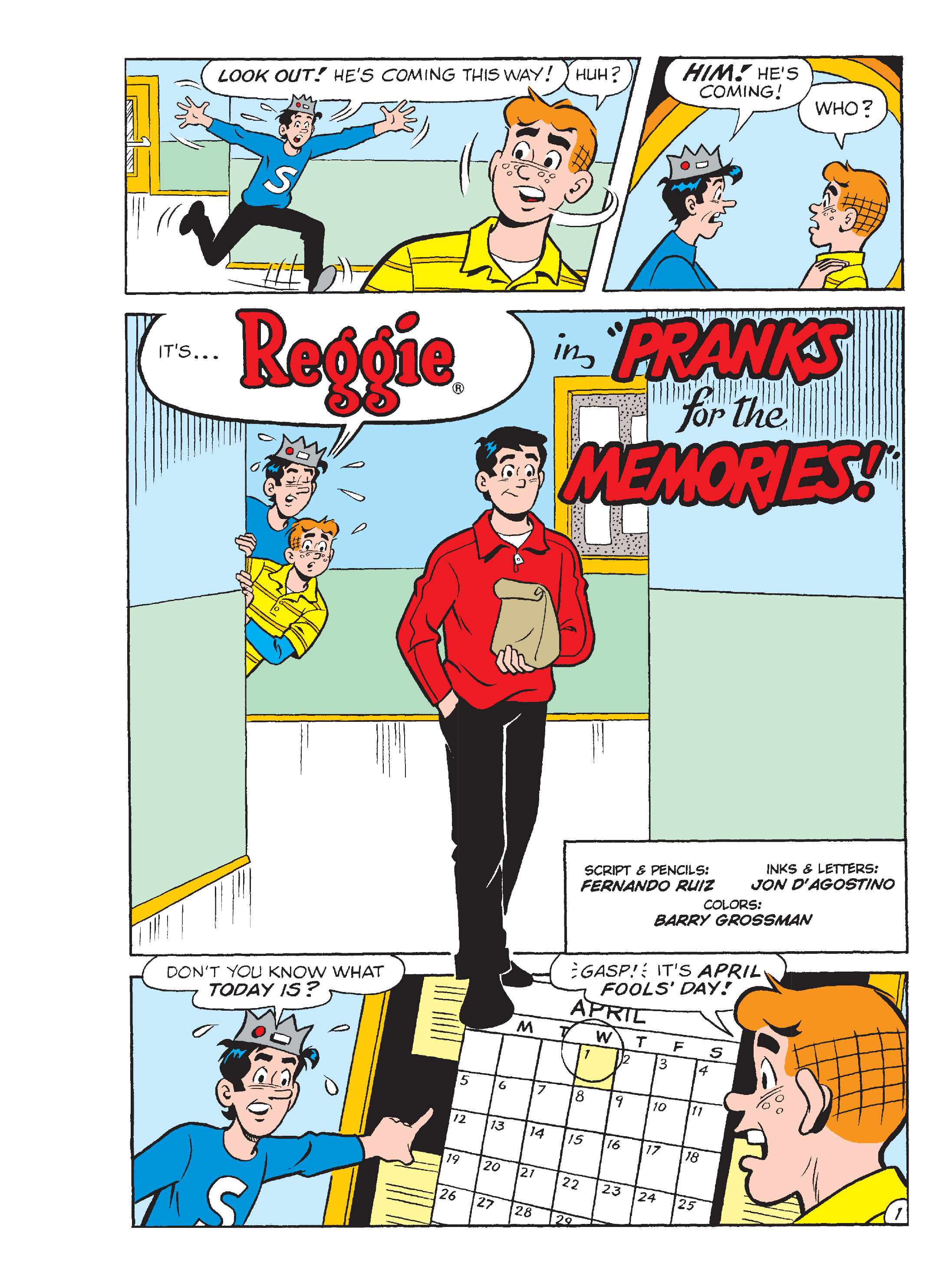 Read online Archie's Funhouse Double Digest comic -  Issue #13 - 114