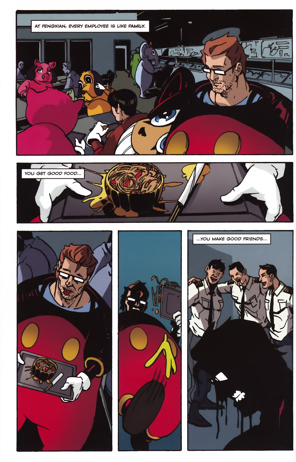 Read online Ricky Rouse Has A Gun comic -  Issue # TPB (Part 1) - 37