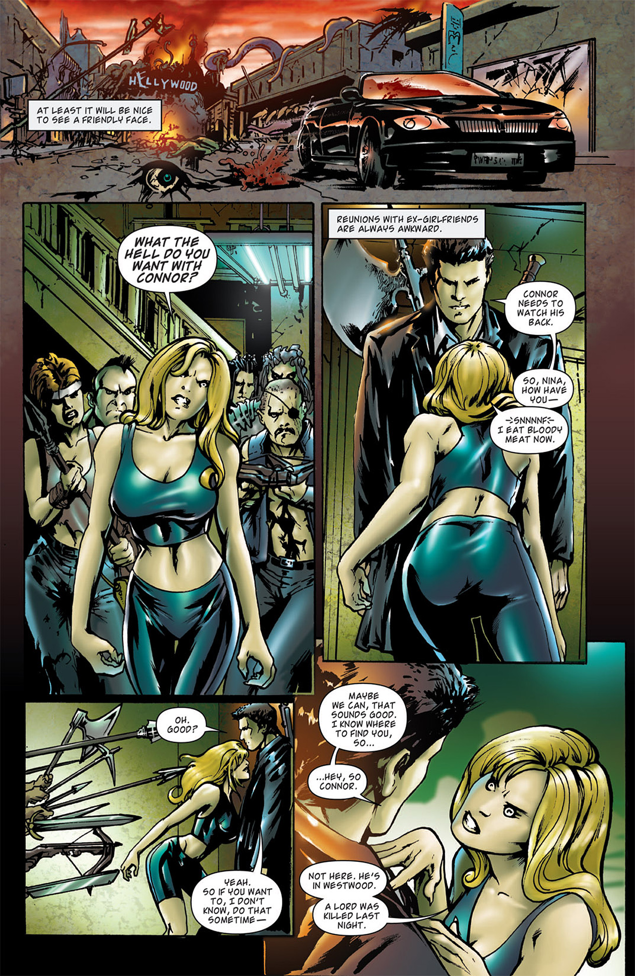 Read online Angel: After The Fall comic -  Issue #2 - 6