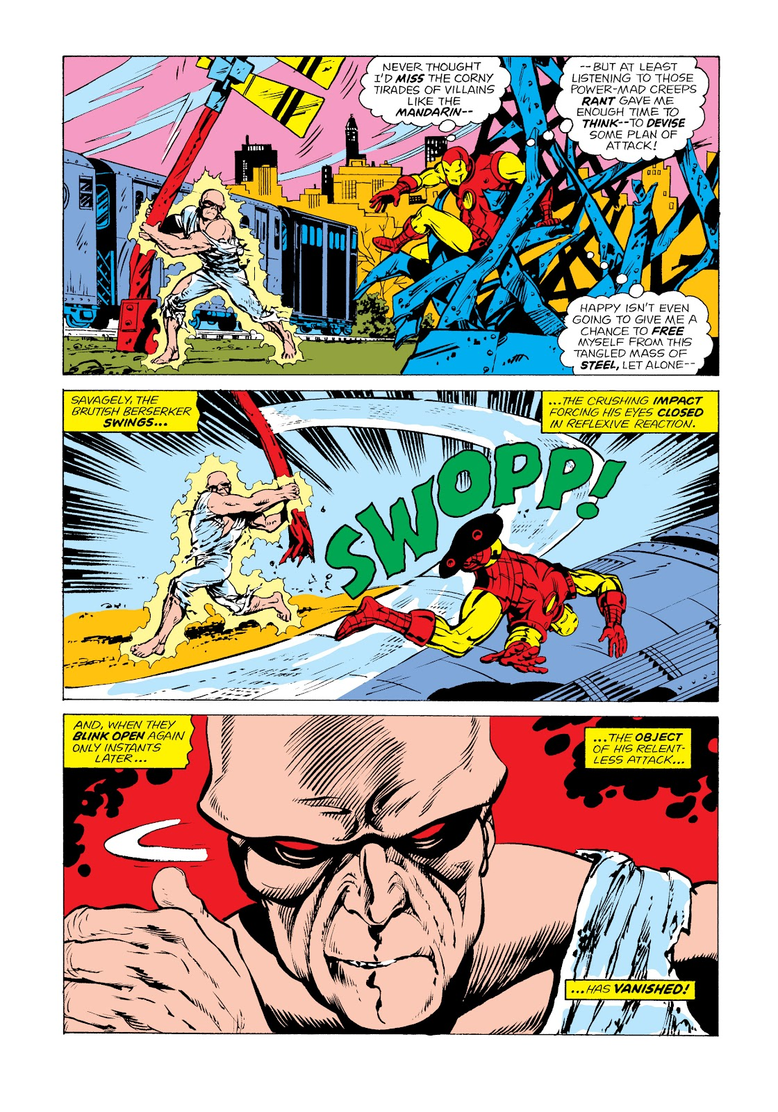 Read online Marvel Masterworks: The Invincible Iron Man comic -  Issue # TPB 11 (Part 1) - 81