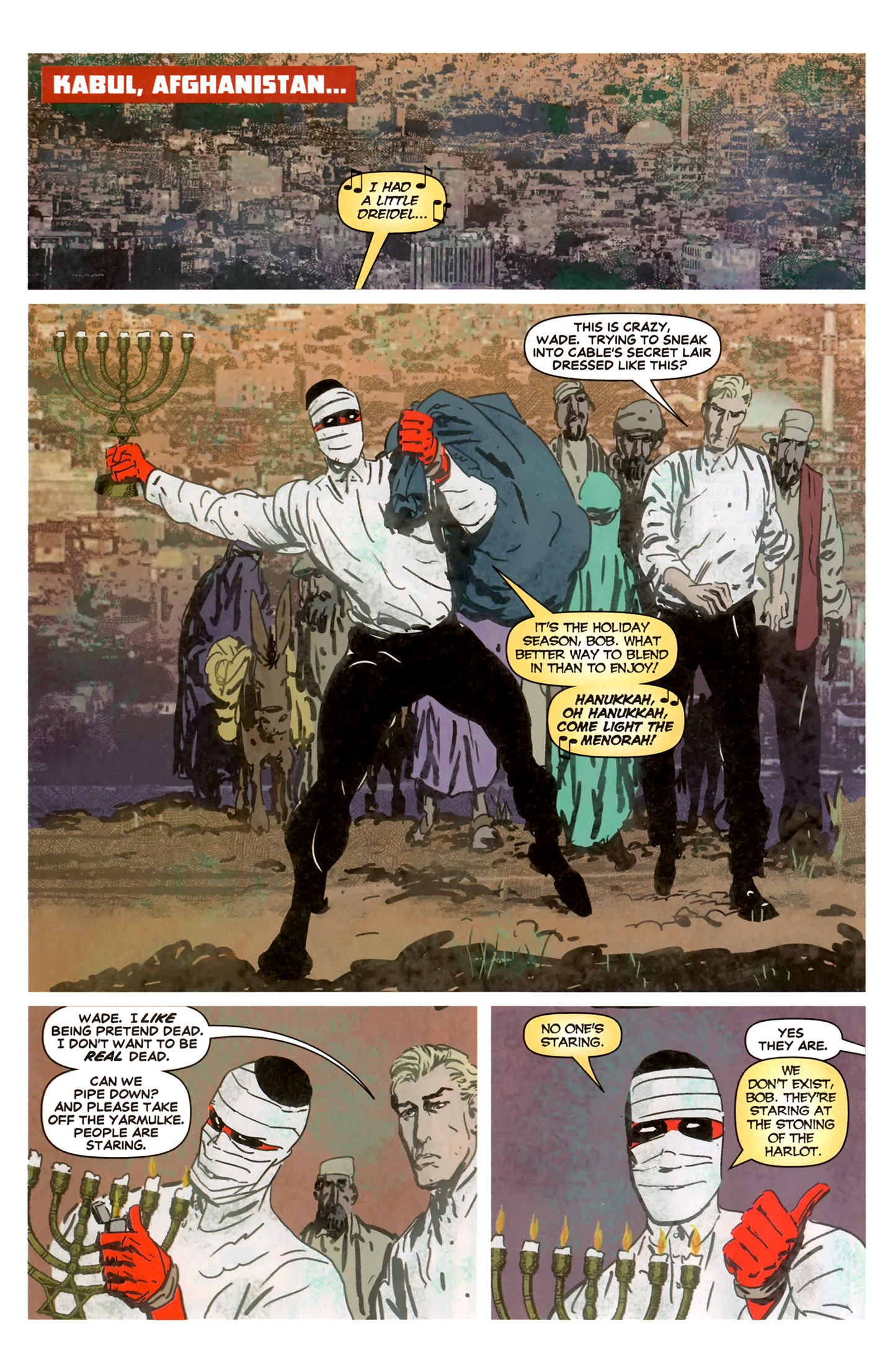 Read online Deadpool MAX X-Mas Special comic -  Issue # Full - 13