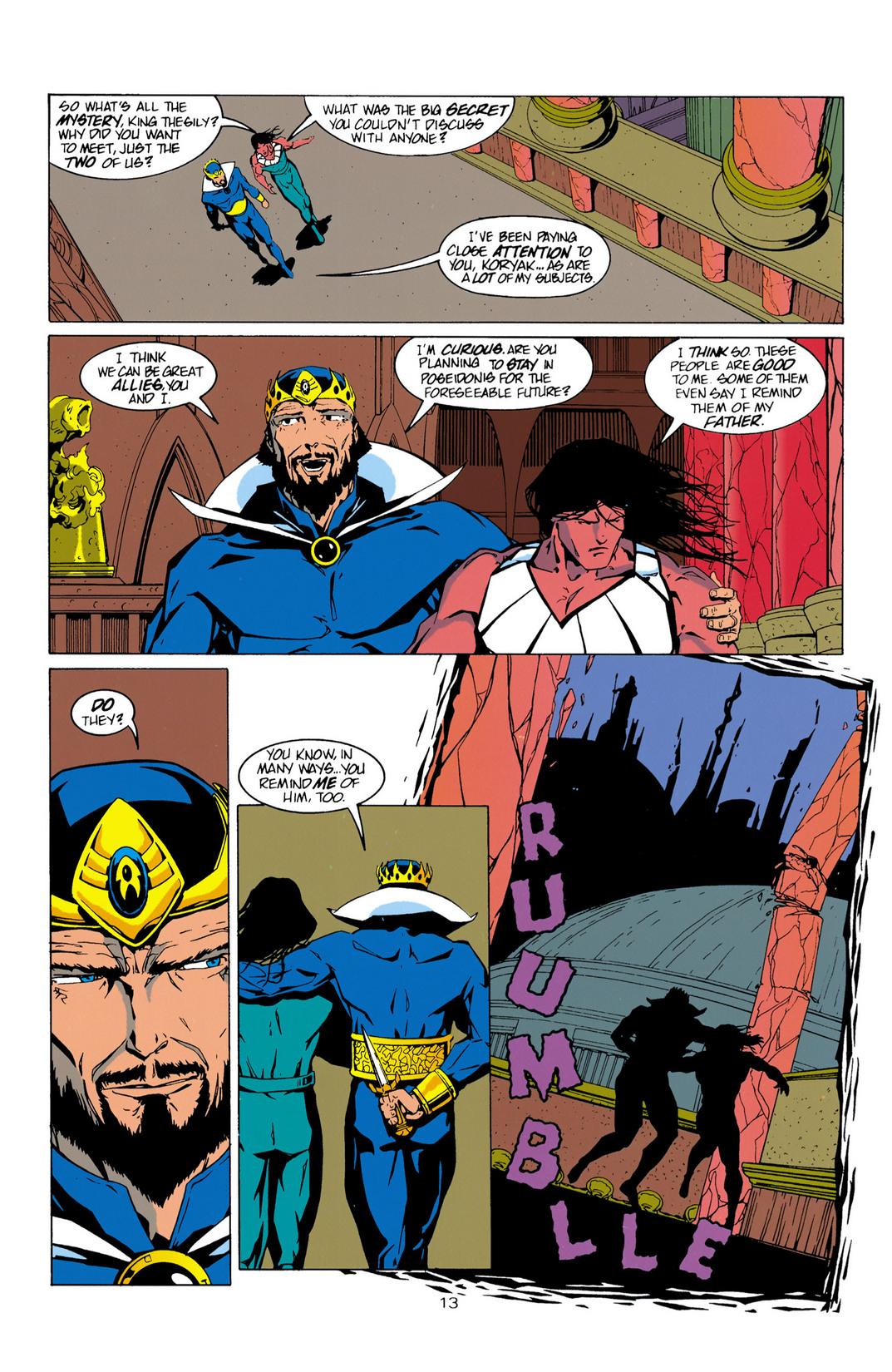 Read online Aquaman (1994) comic -  Issue #10 - 14
