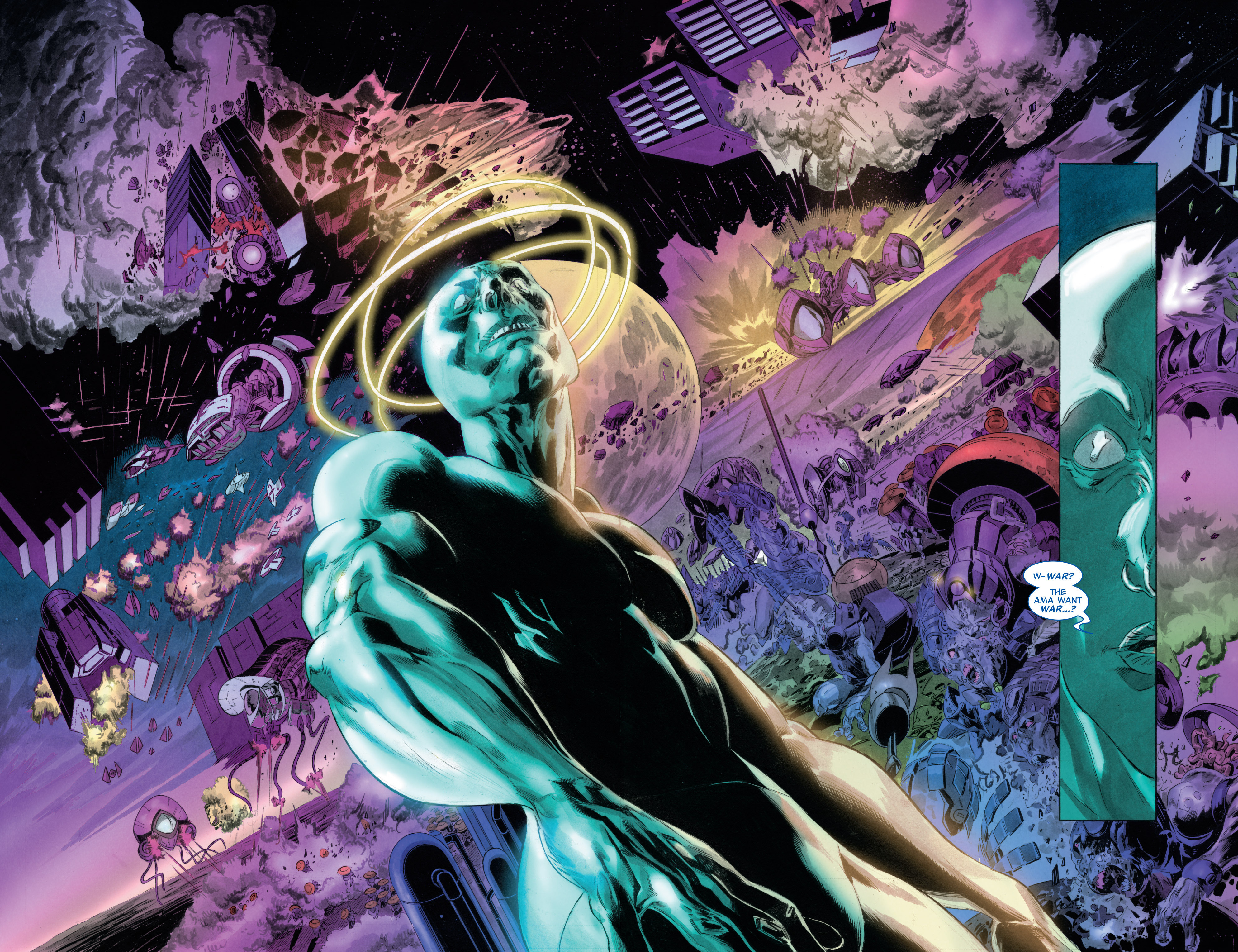 Read online Silver Surfer: In Thy Name comic -  Issue #3 - 14