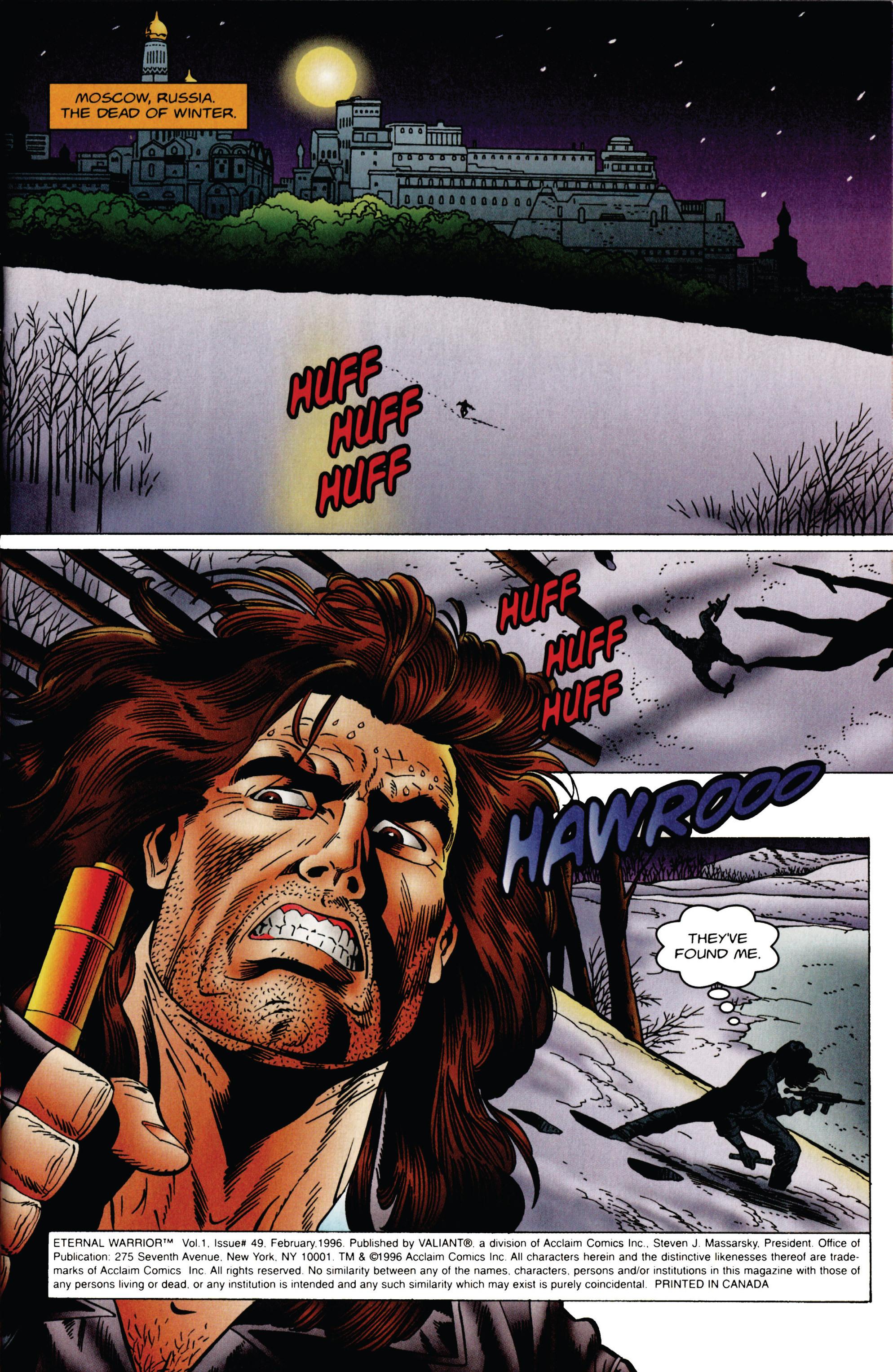Read online Eternal Warrior (1992) comic -  Issue #49 - 2