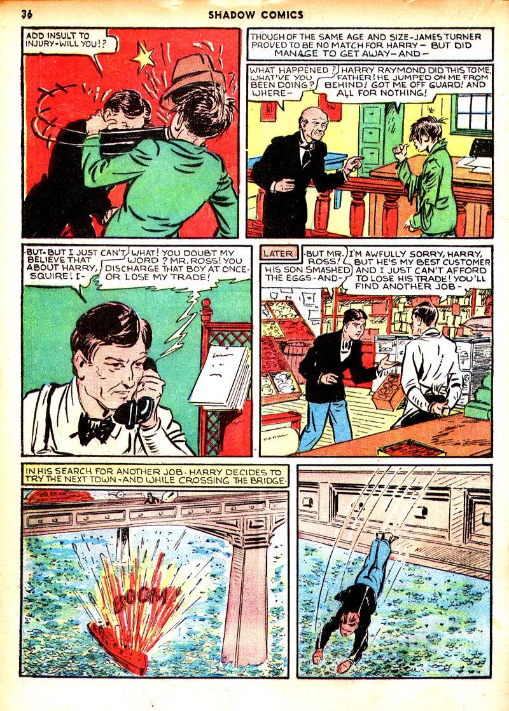 Read online Shadow Comics comic -  Issue #7 - 29
