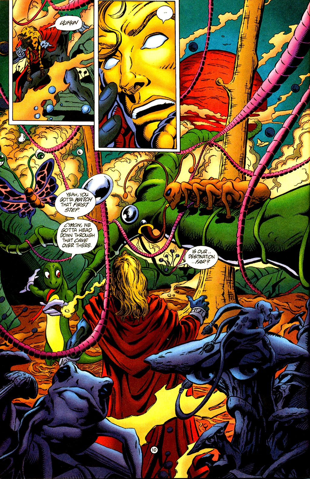Read online Rune (1995) comic -  Issue #2 - 12