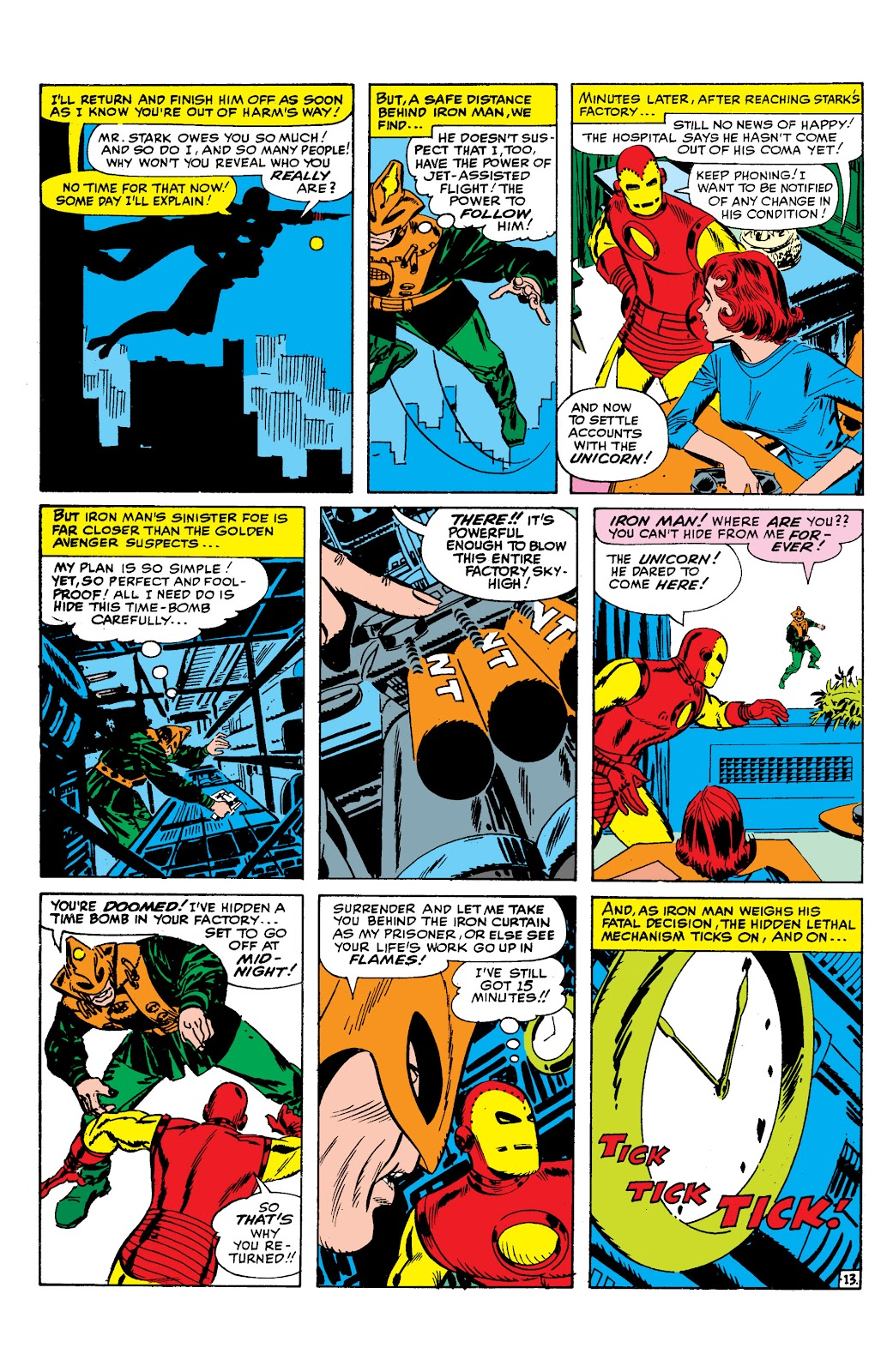 Read online Marvel Masterworks: The Invincible Iron Man comic -  Issue # TPB 2 (Part 1) - 94
