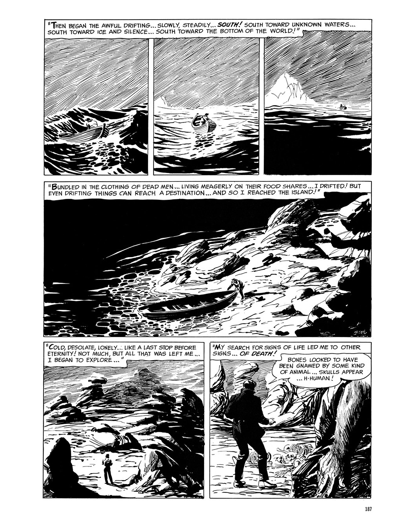 Read online Eerie Archives comic -  Issue # TPB 1 - 188