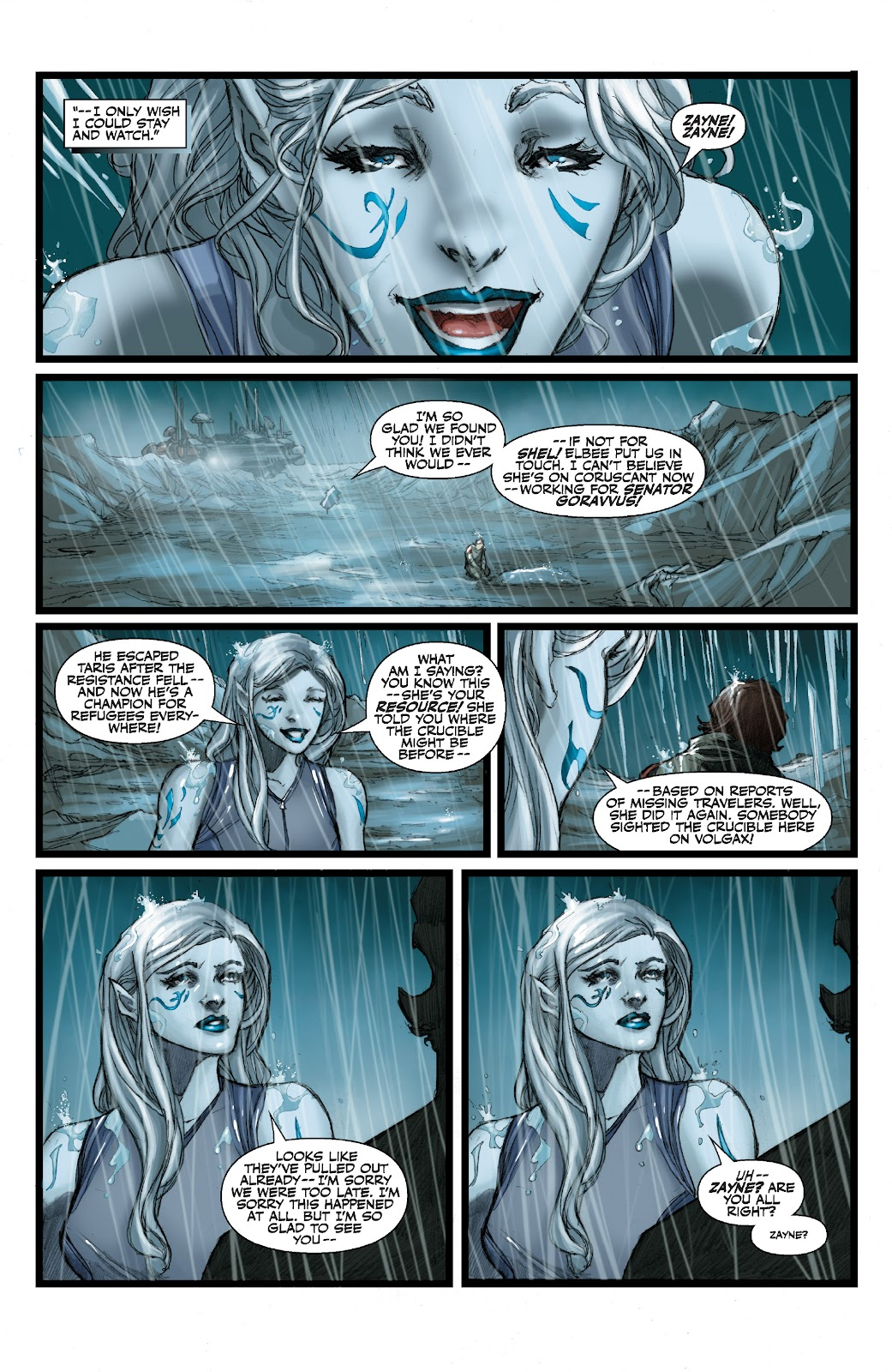 Read online Star Wars Legends: The Old Republic - Epic Collection comic -  Issue # TPB 3 (Part 3) - 8