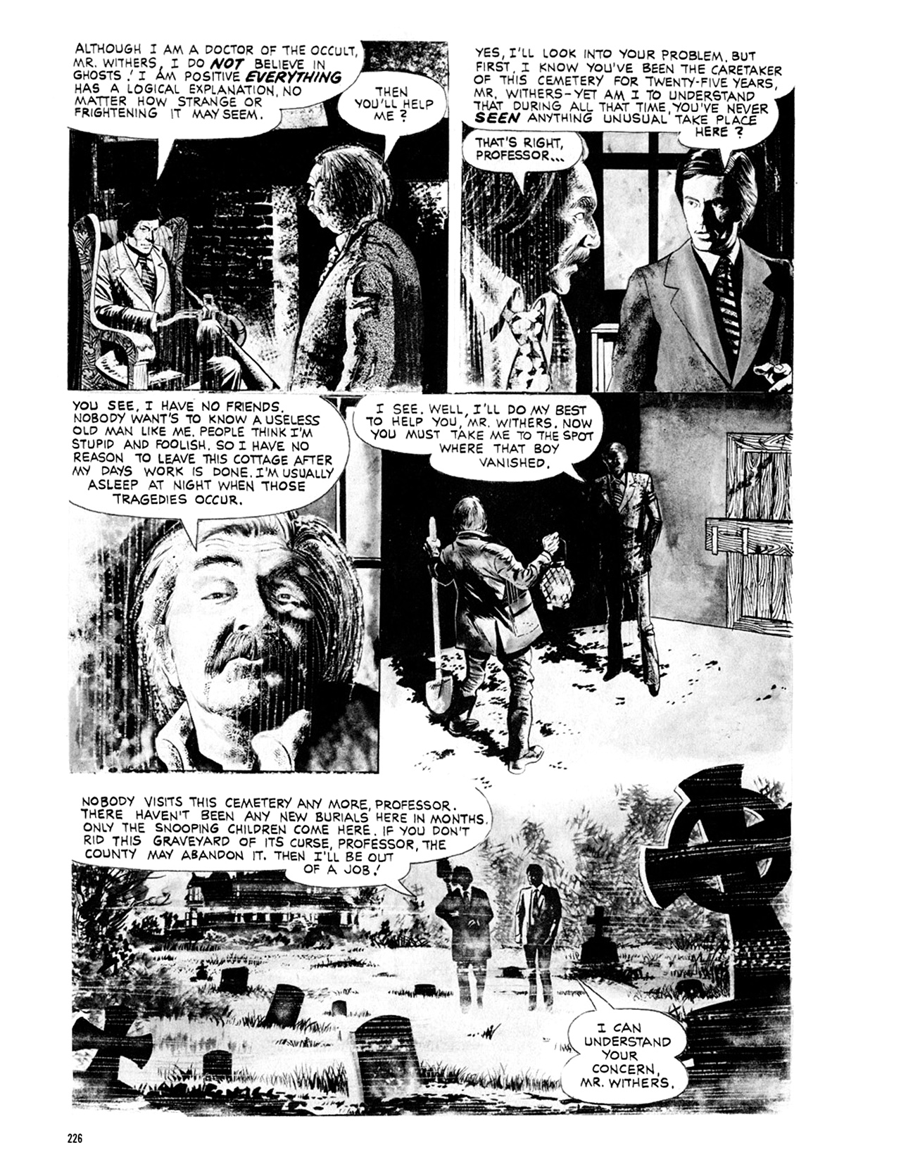 Read online Eerie Archives comic -  Issue # TPB 9 - 227
