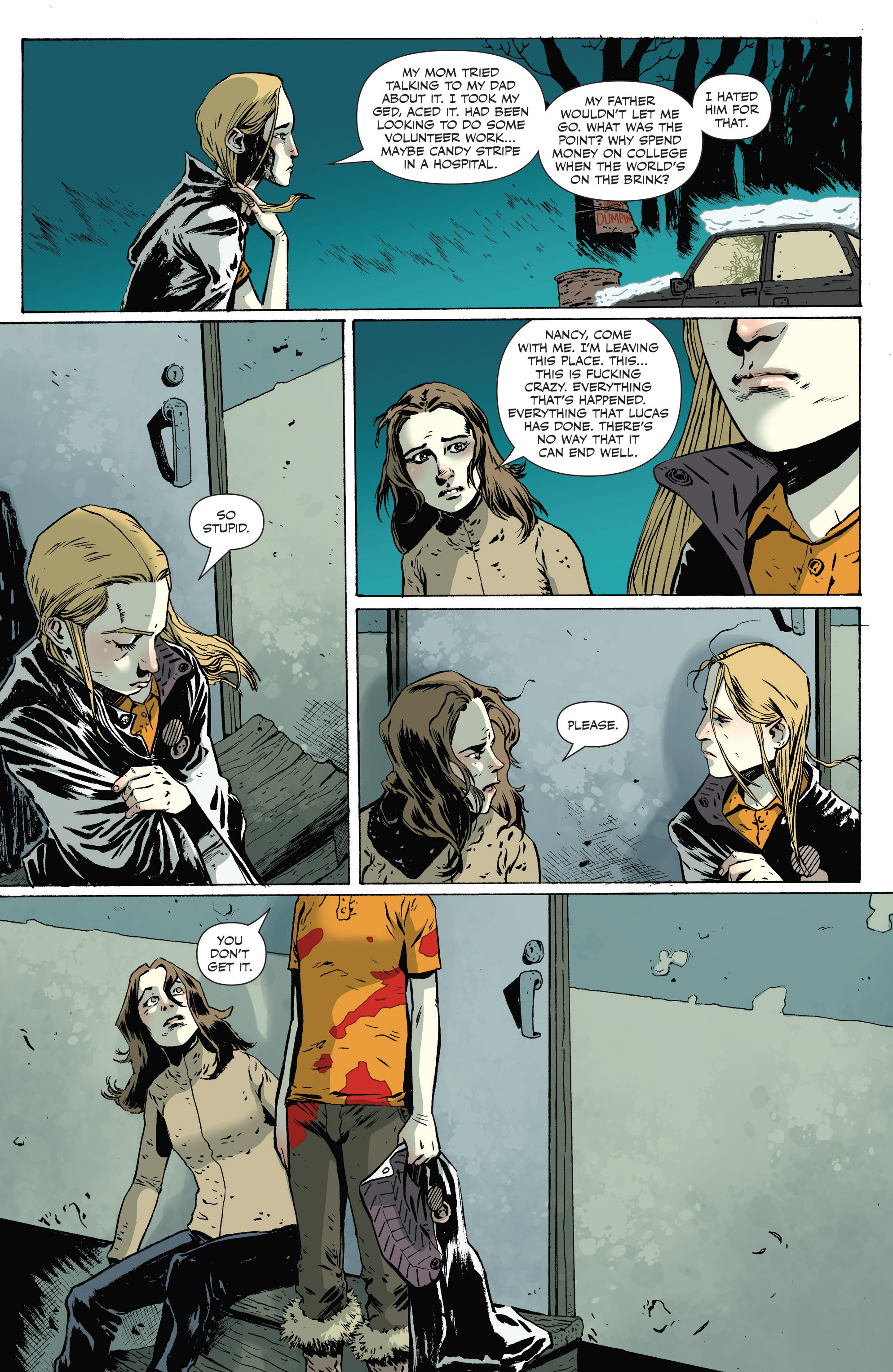 Read online Sheltered comic -  Issue #9 - 5