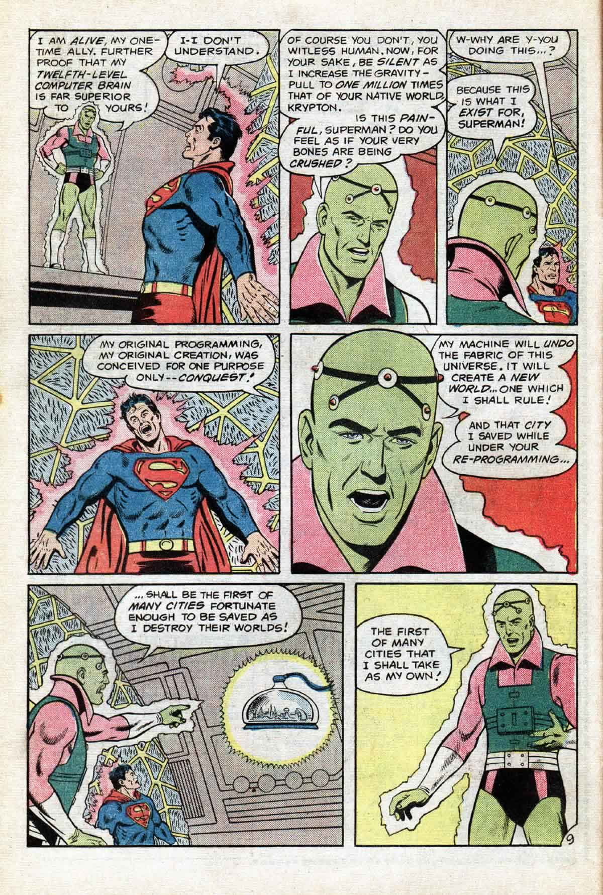 Read online Action Comics (1938) comic -  Issue #530 - 10