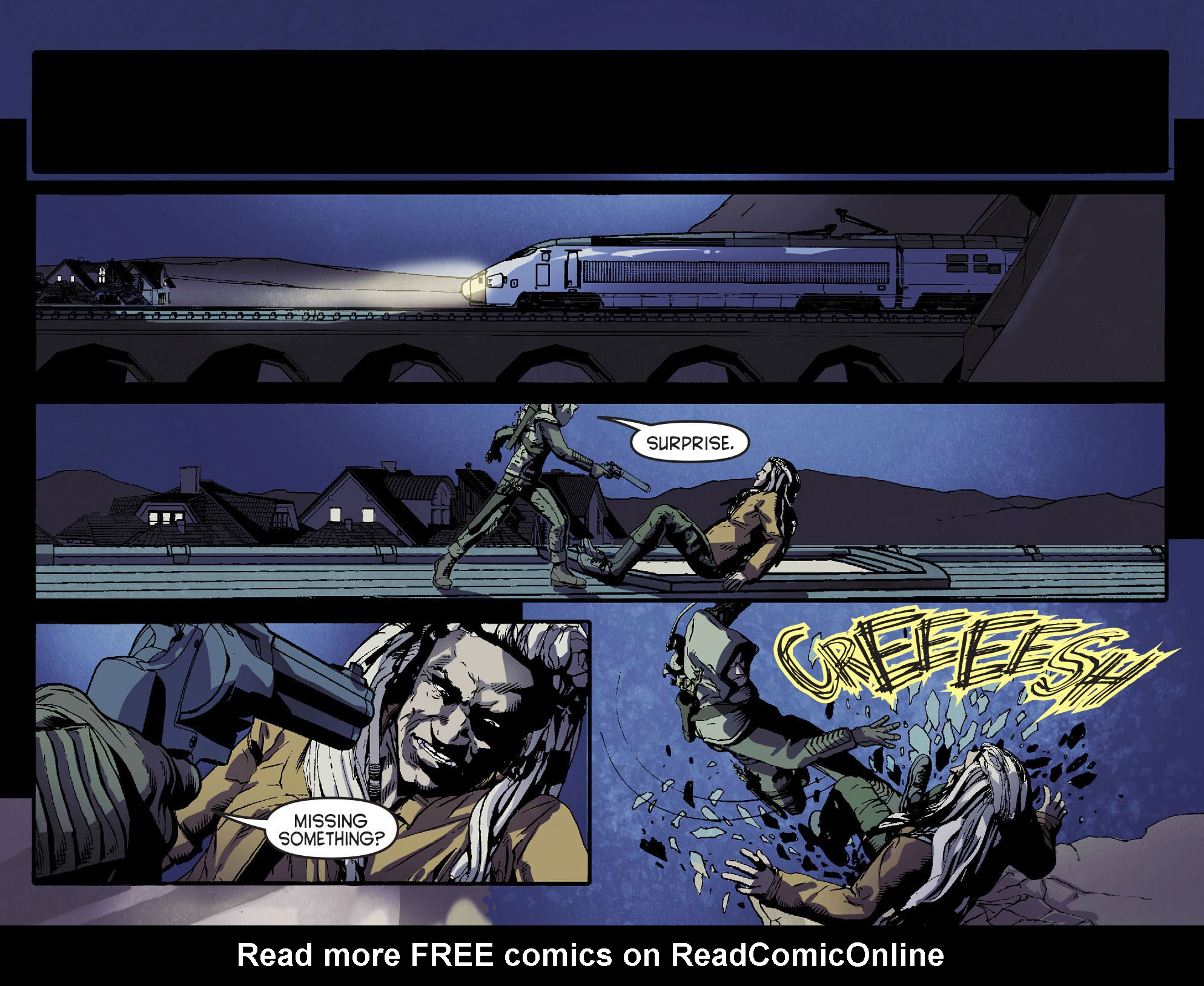 Read online Arrow [II] comic -  Issue #15 - 15
