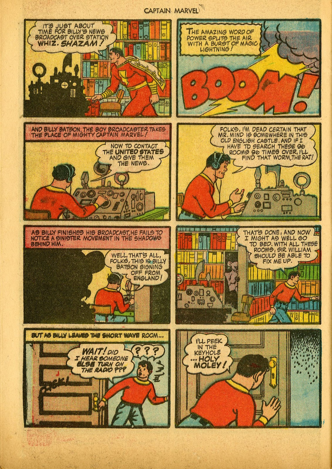 Captain Marvel Adventures issue 36 - Page 44