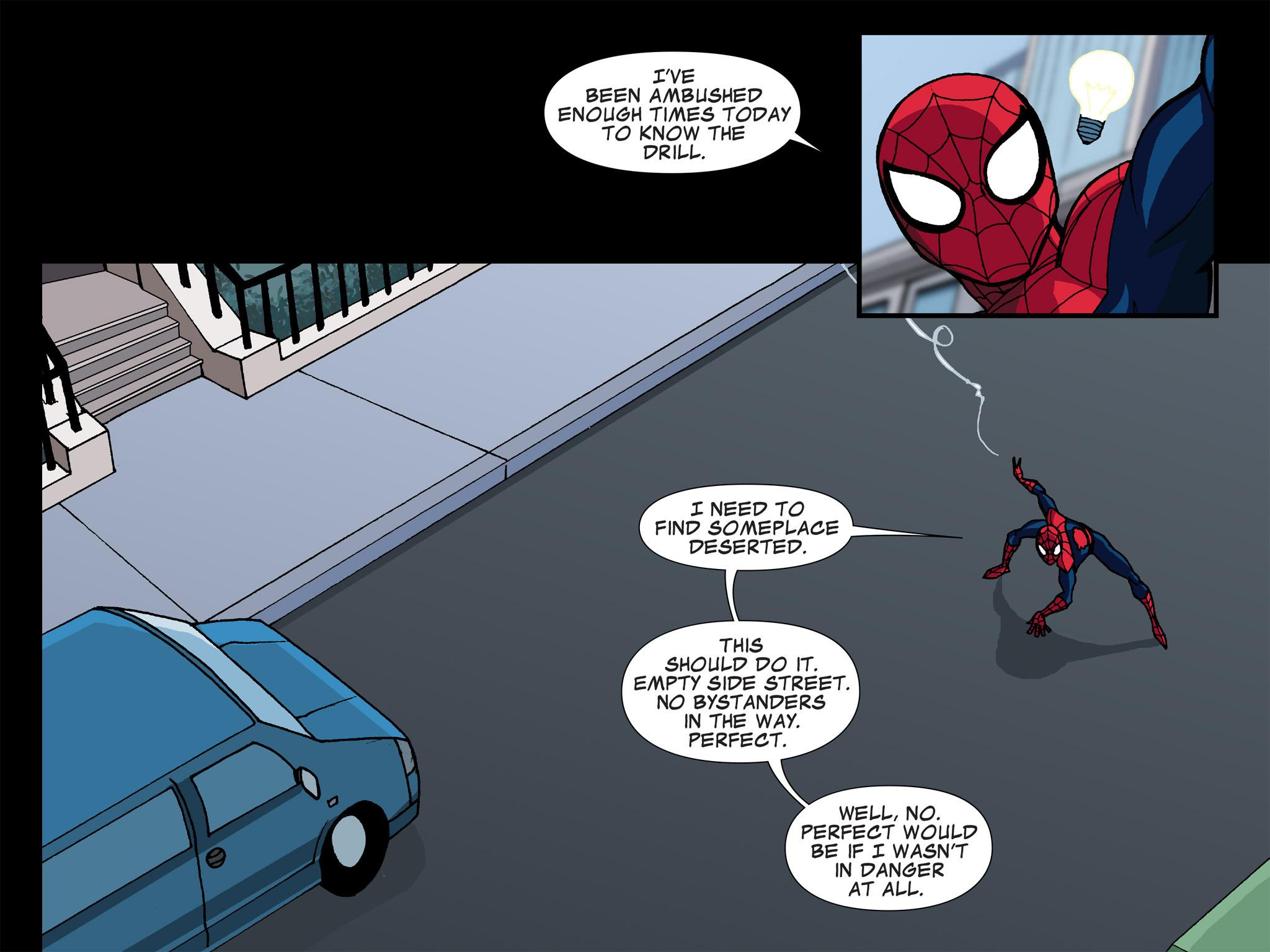 Read online Ultimate Spider-Man (Infinite Comics) (2015) comic -  Issue #5 - 14