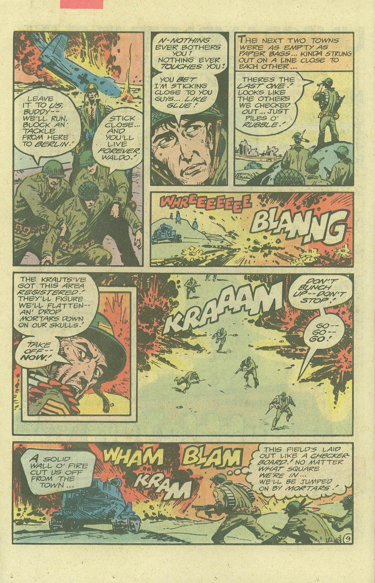 Read online Sgt. Rock comic -  Issue #380 - 13