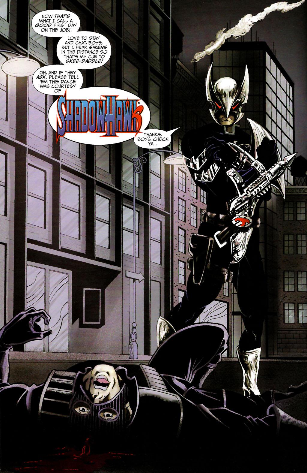 Read online ShadowHawk (2005) comic -  Issue #10 - 6