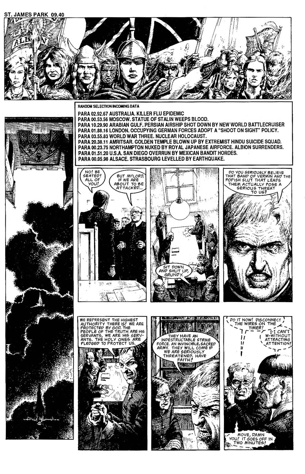 Read online The Adventures of Luther Arkwright comic -  Issue #7 - 25