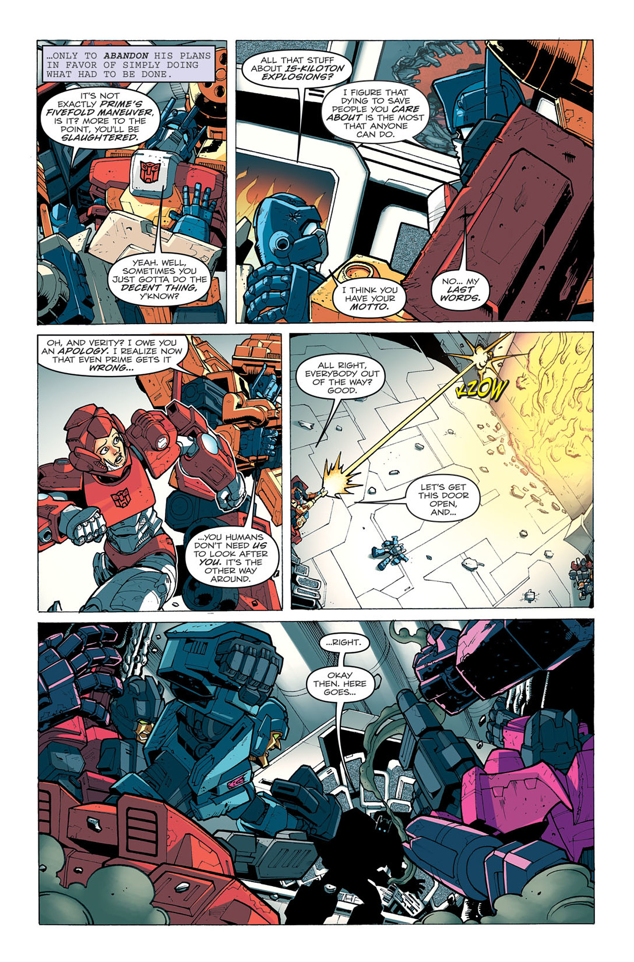Read online Transformers: Last Stand of The Wreckers comic -  Issue #5 - 7